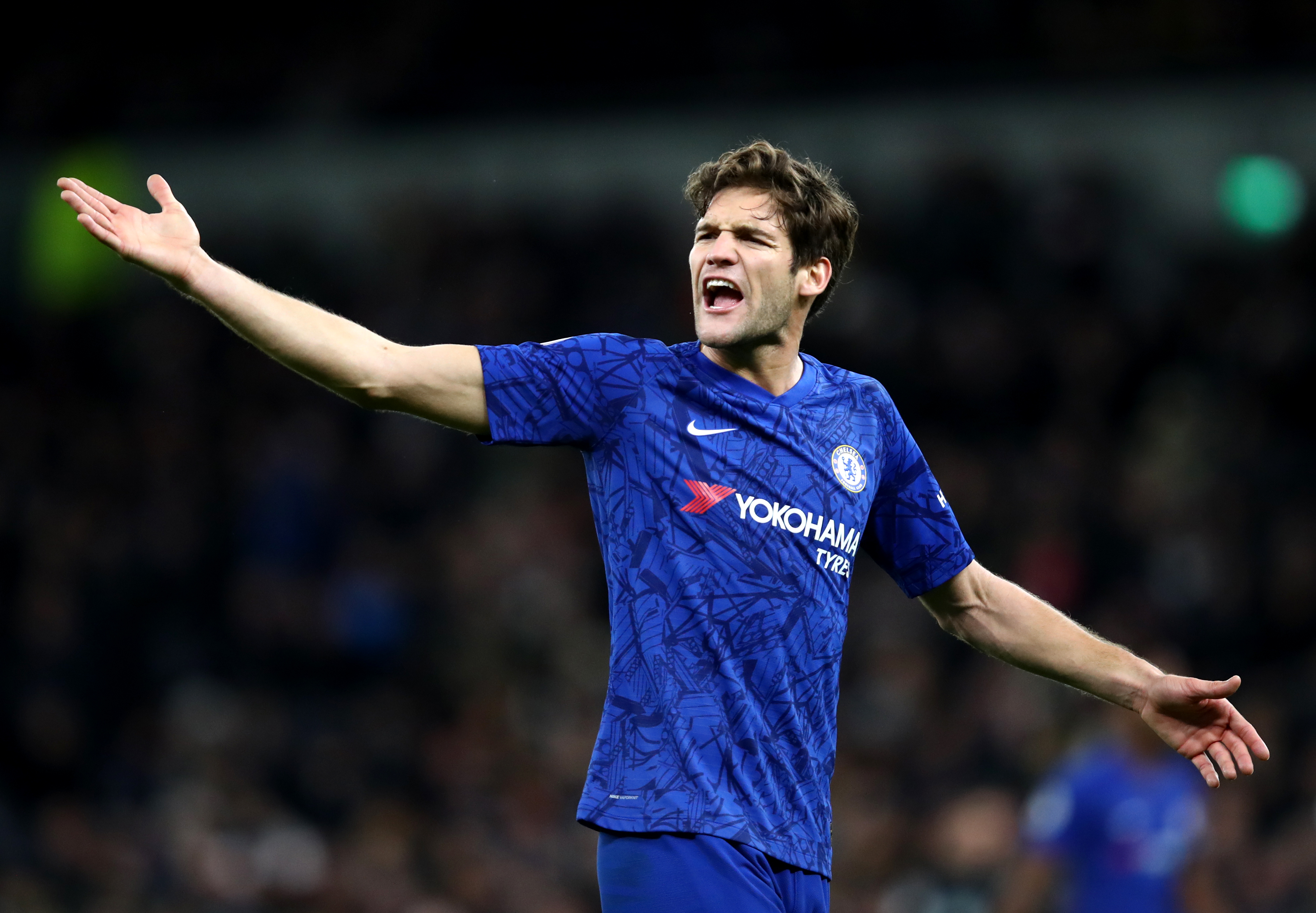 Marcos Alonso set for Chelsea stay? (Photo by Julian Finney/Getty Images)