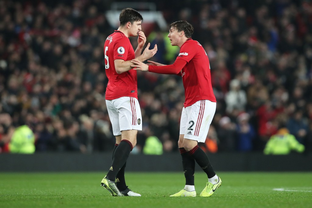 Maguire and Lindelof need to do better. (Photo by Ian MacNicol/Getty Images)