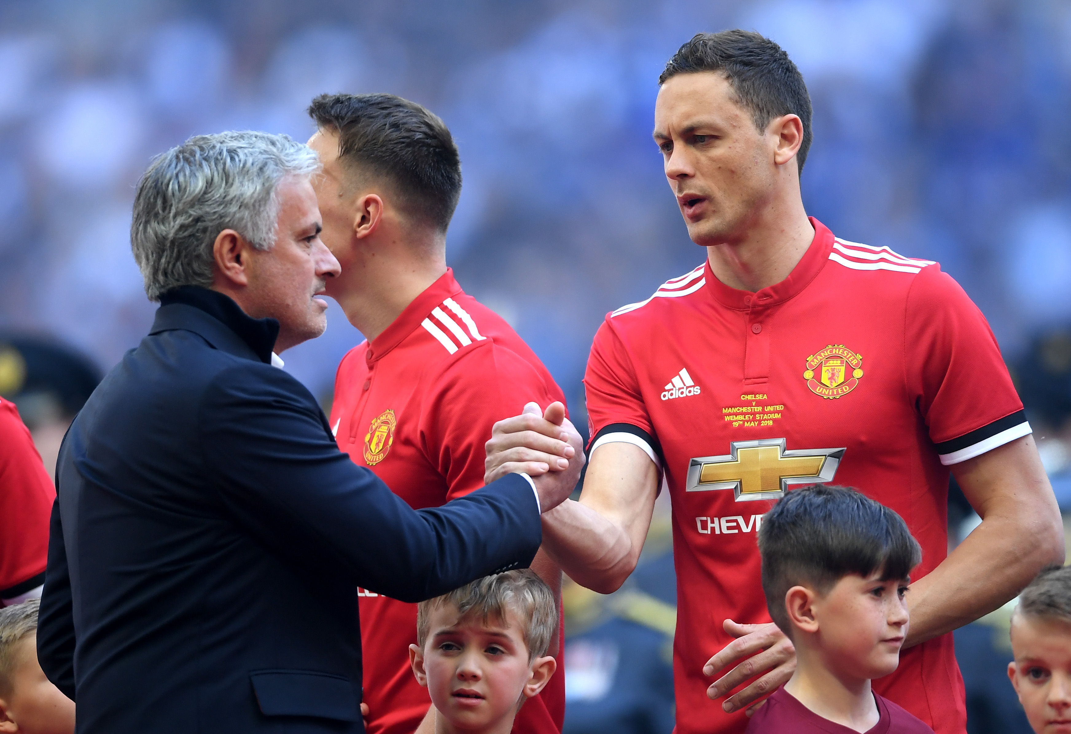 Matic to reunite with Jose Mourinho at Roma? (Photo by Laurence Griffiths/Getty Images)