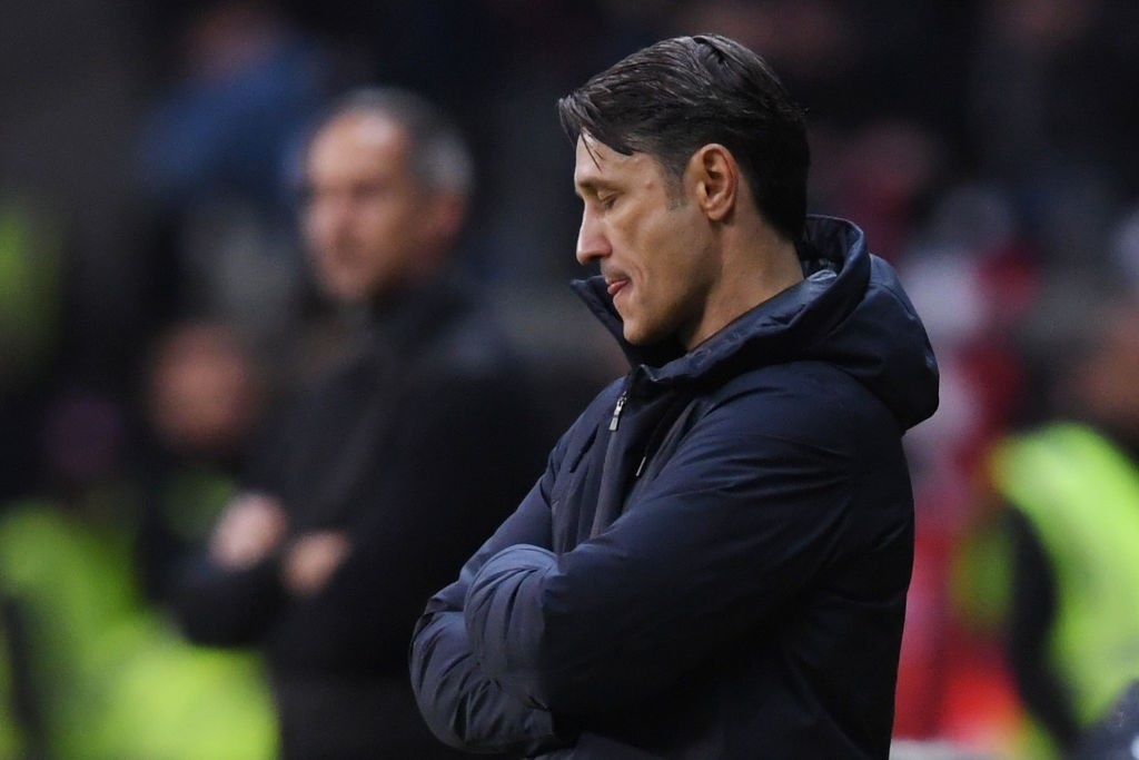 For Kovac, the world came crashing down early into the season. (Photo by Alex Grimm/Bongarts/Getty Images)