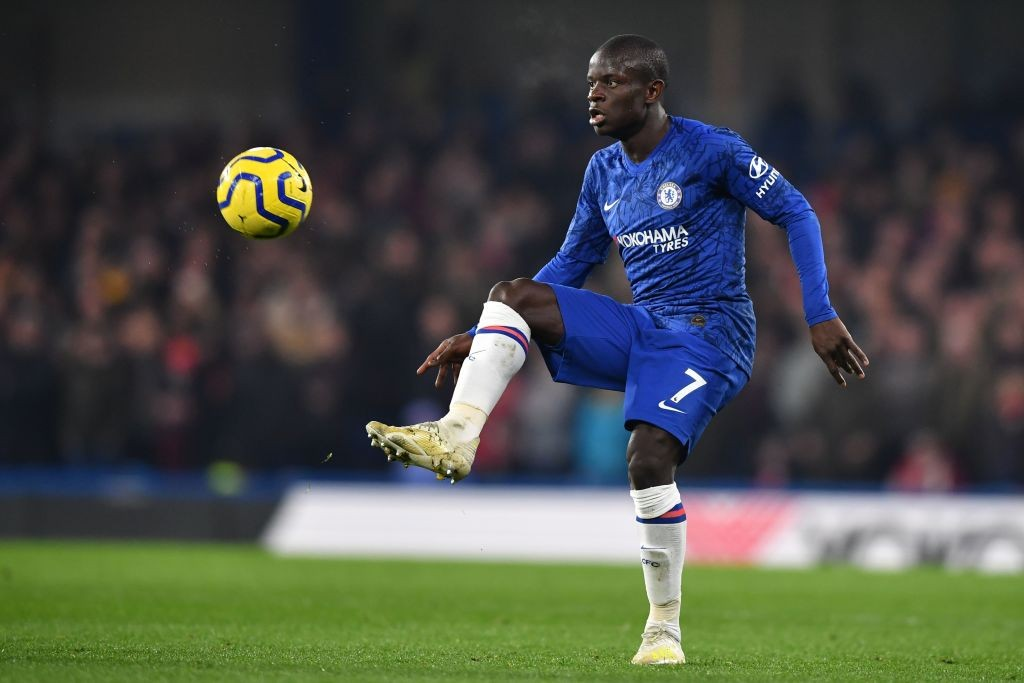 N'Golo Kante ruled out for Chelsea. (Photo by BEN STANSALL/AFP via Getty Images)