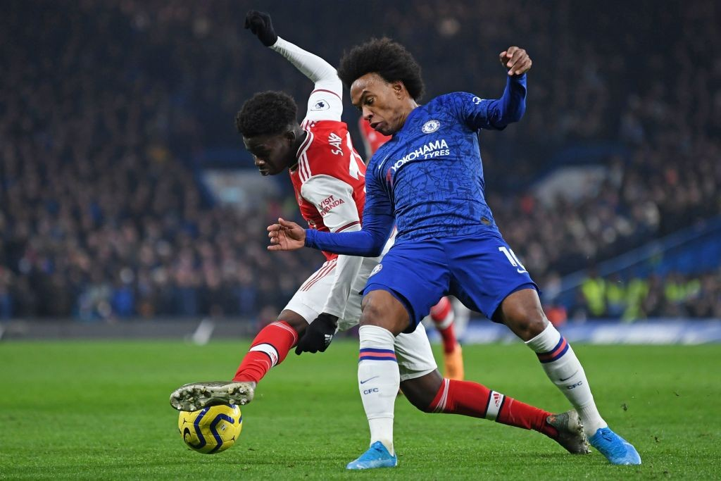 Willian ineffective yet again (Photo by DANIEL LEAL-OLIVAS/AFP via Getty Images}