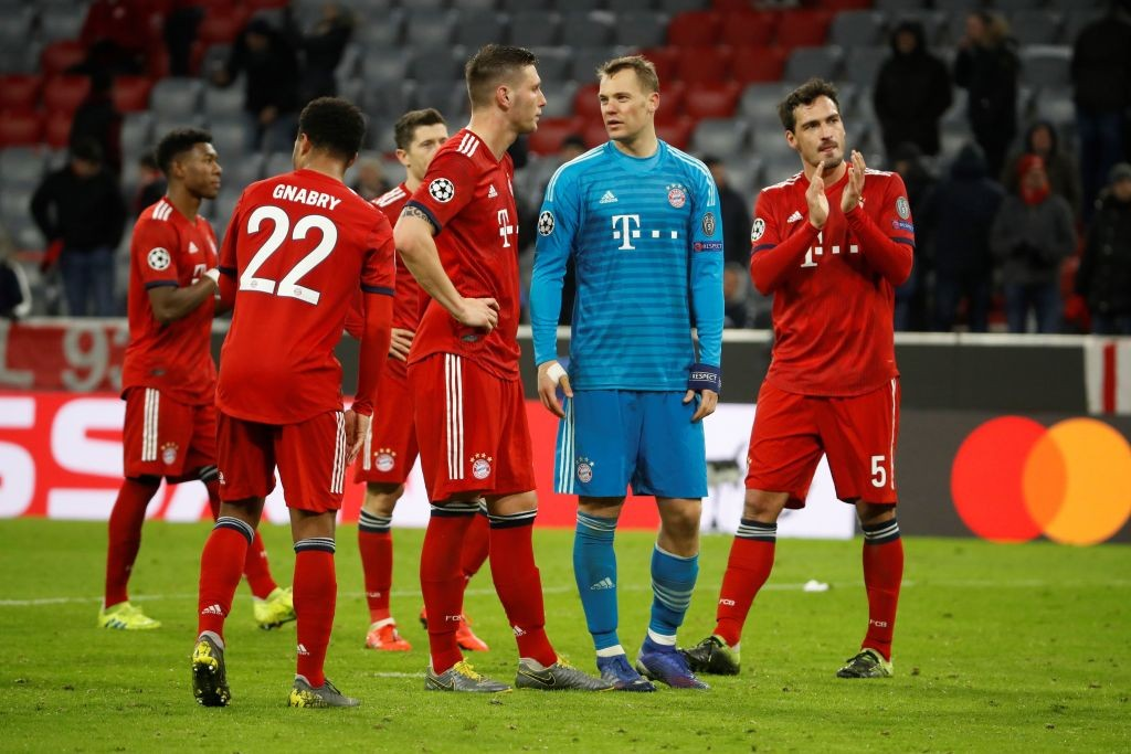 Bayern Munich were humiliated at home by a high flying Liverpool side. (Photo by Odd ANDERSEN / AFP) (Photo credit should read ODD ANDERSEN/AFP via Getty Images)