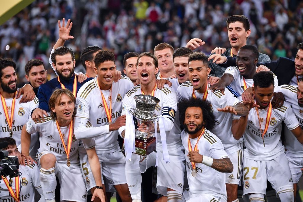 Real Madrid won the Supercopa de Espana earlier this season. (Photo by Giuseppe Cacace/AFP via Getty Images)