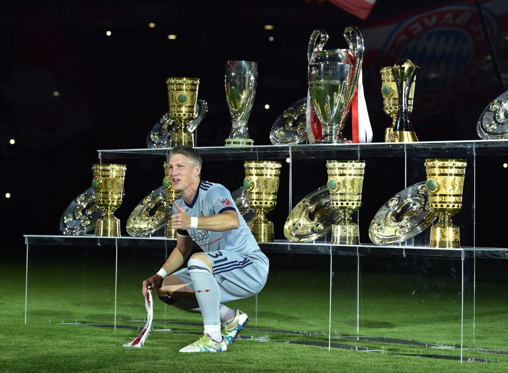 Bayern's midfield colossus. (Photo by Christof Stache/AFP via Getty Images)