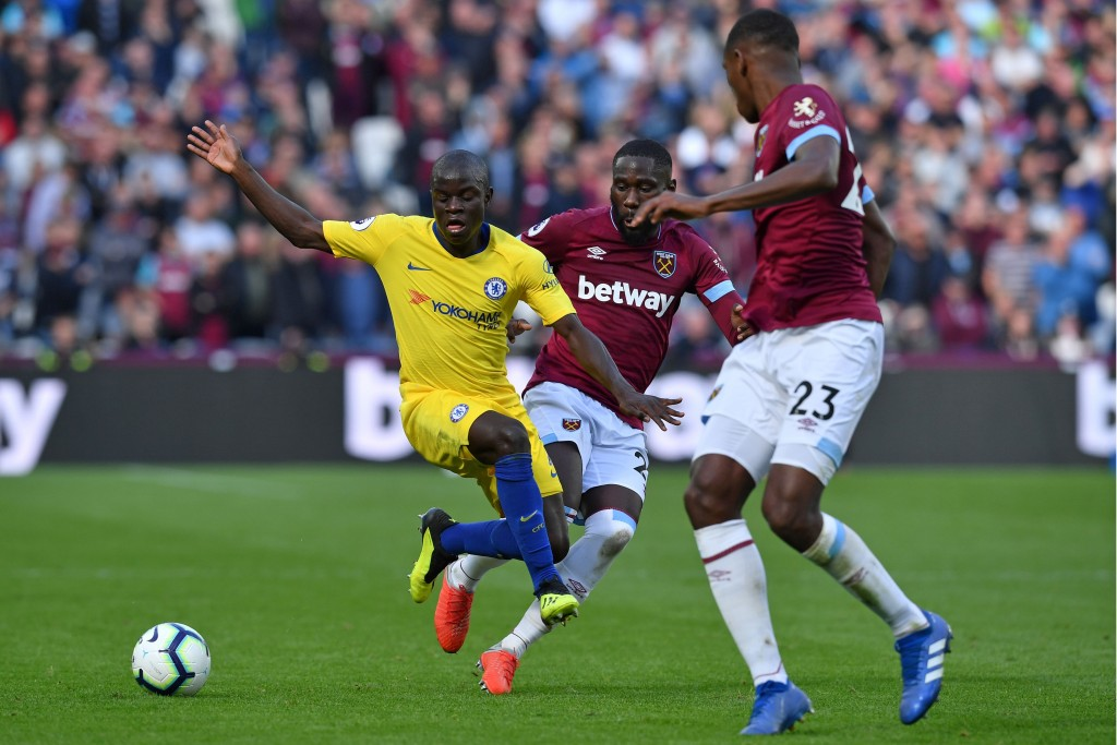 Is Diop set to join N'Golo Kante at Chelsea? (Photo by Ben Stansall/AFP via Getty Images)