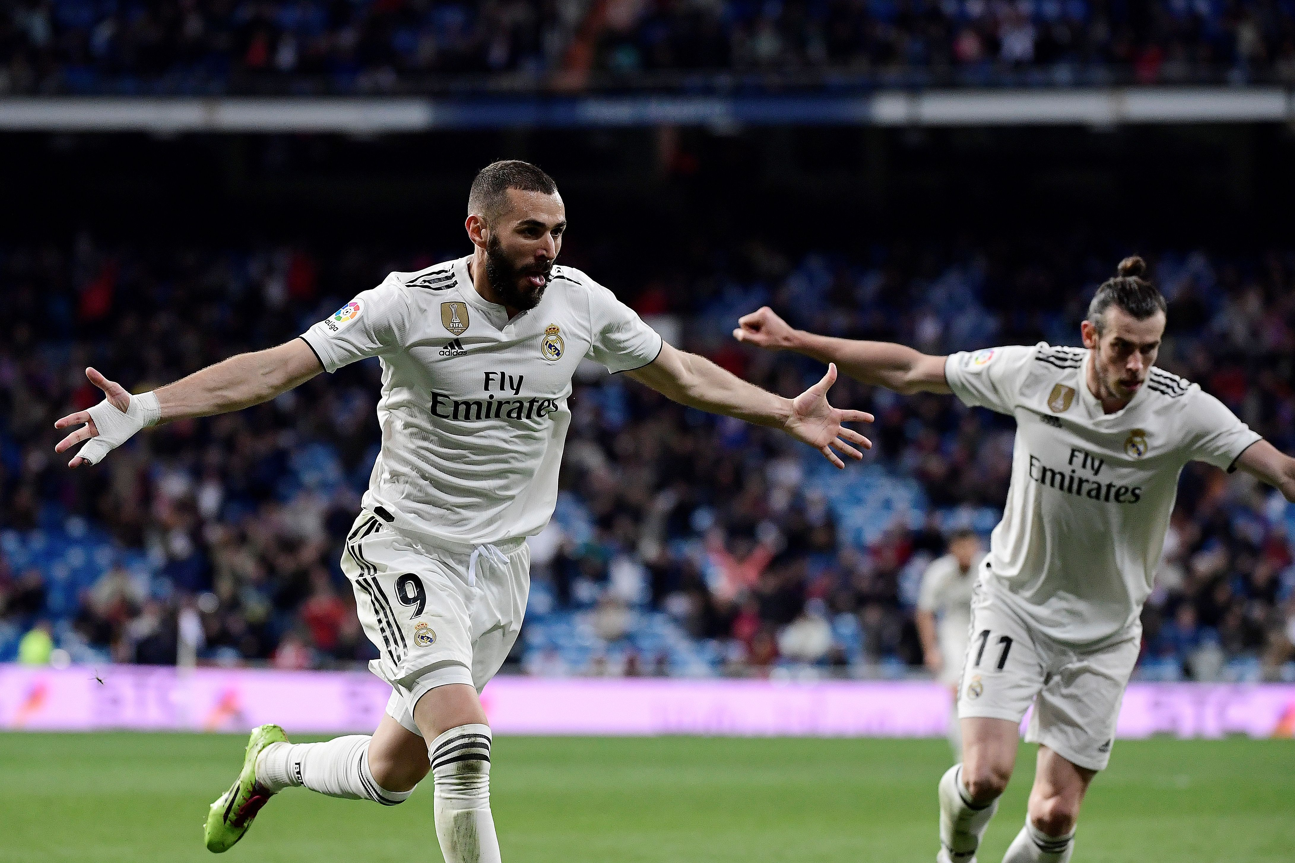 Bale and Benzema have been crucial to Real Madrid's success in the last decade (Photo by JAVIER SORIANO/AFP via Getty Images)