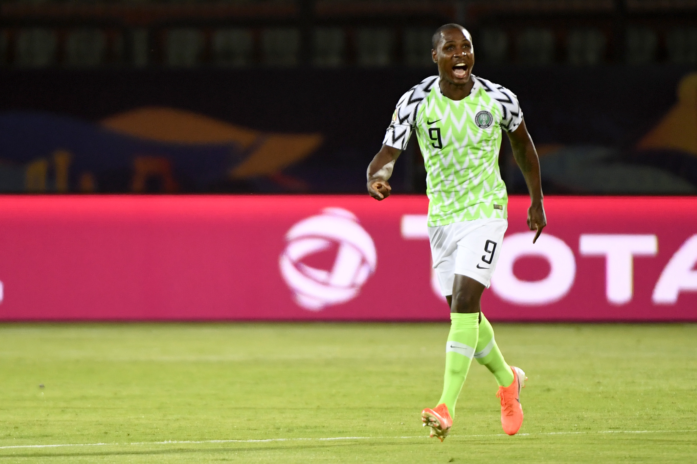 Ighalo on Manchester United's radar (Photo by KHALED DESOUKI/AFP via Getty Images)