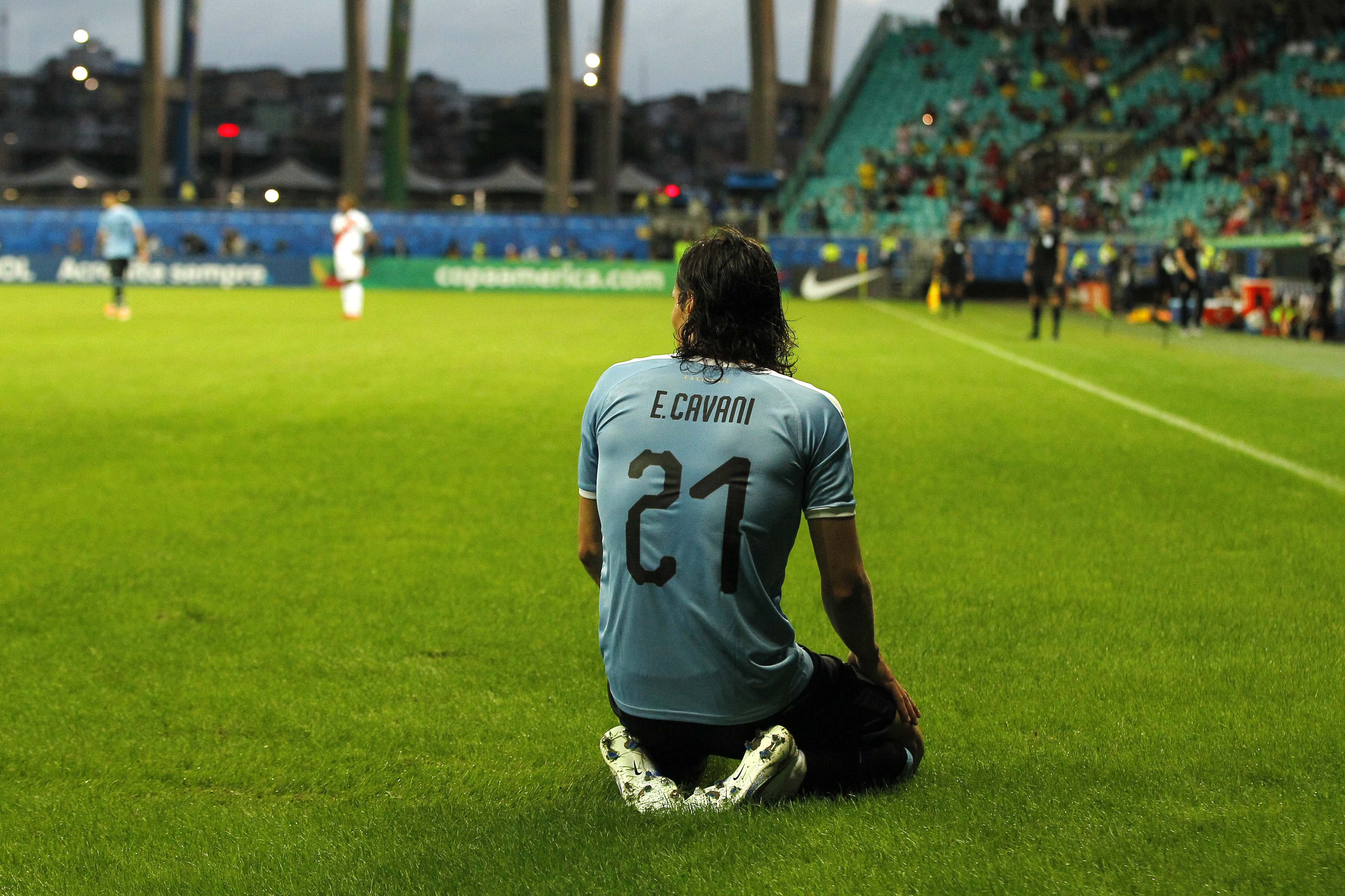 Back into the Uruguayan side and among the goals already (Photo by Wagner Meier/Getty Images)