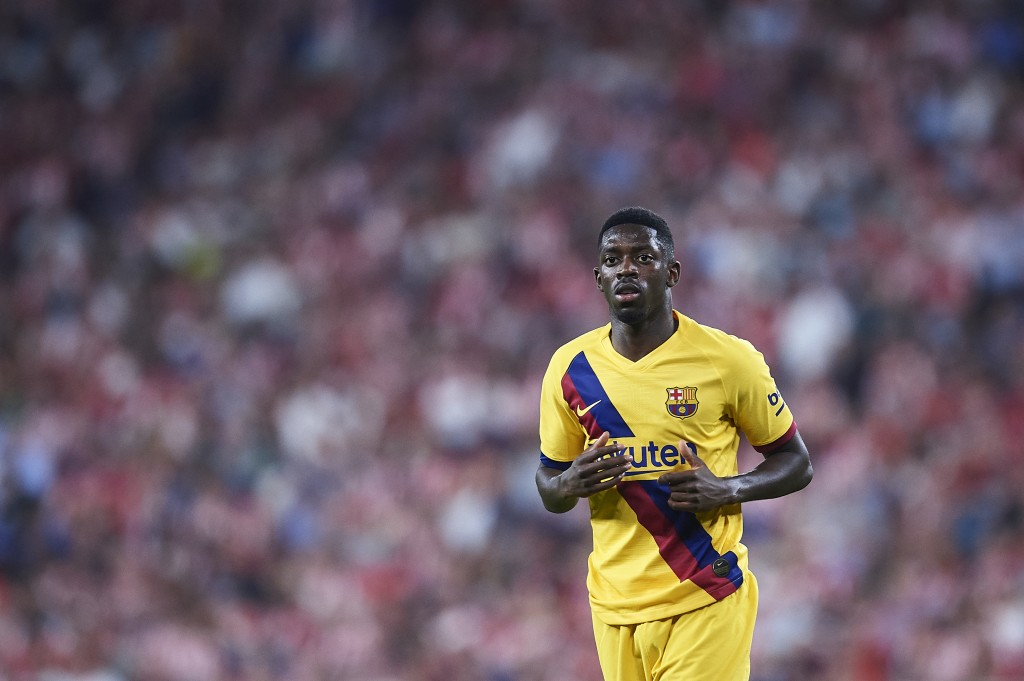 set to go from Barcelona to Manchester United? (Photo by Juan Manuel Serrano Arce/Getty Images)