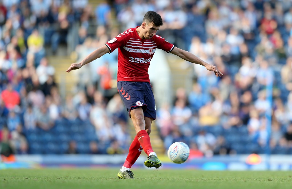 Middlesbrough will be without captain Daniel Ayala. (Photo by Lewis Storey/Getty Images)