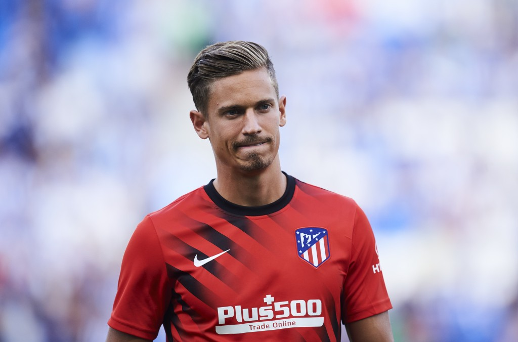 SAN SEBASTIAN, SPAIN - SEPTEMBER 14: Marcos Llorente of Atletico de Madrid looks on prior to the warm up during the Liga match between Real Sociedad and Club Atletico de Madrid at Estadio Reale Arena on September 14, 2019 in San Sebastian, Spain. (Photo by Juan Manuel Serrano Arce/Getty Images)