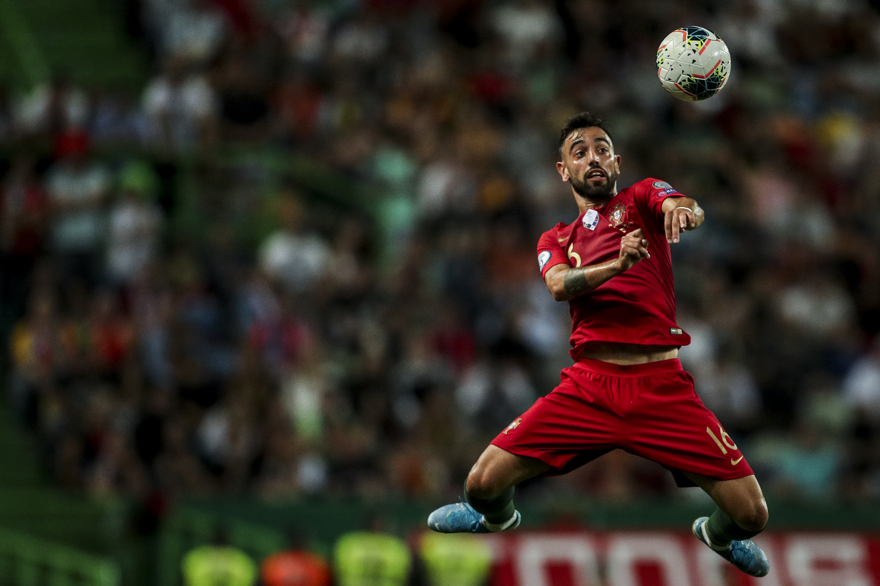 Bruno Fernandes to miss out again? (Photo by Carlos Costa/AFP via Getty Images)