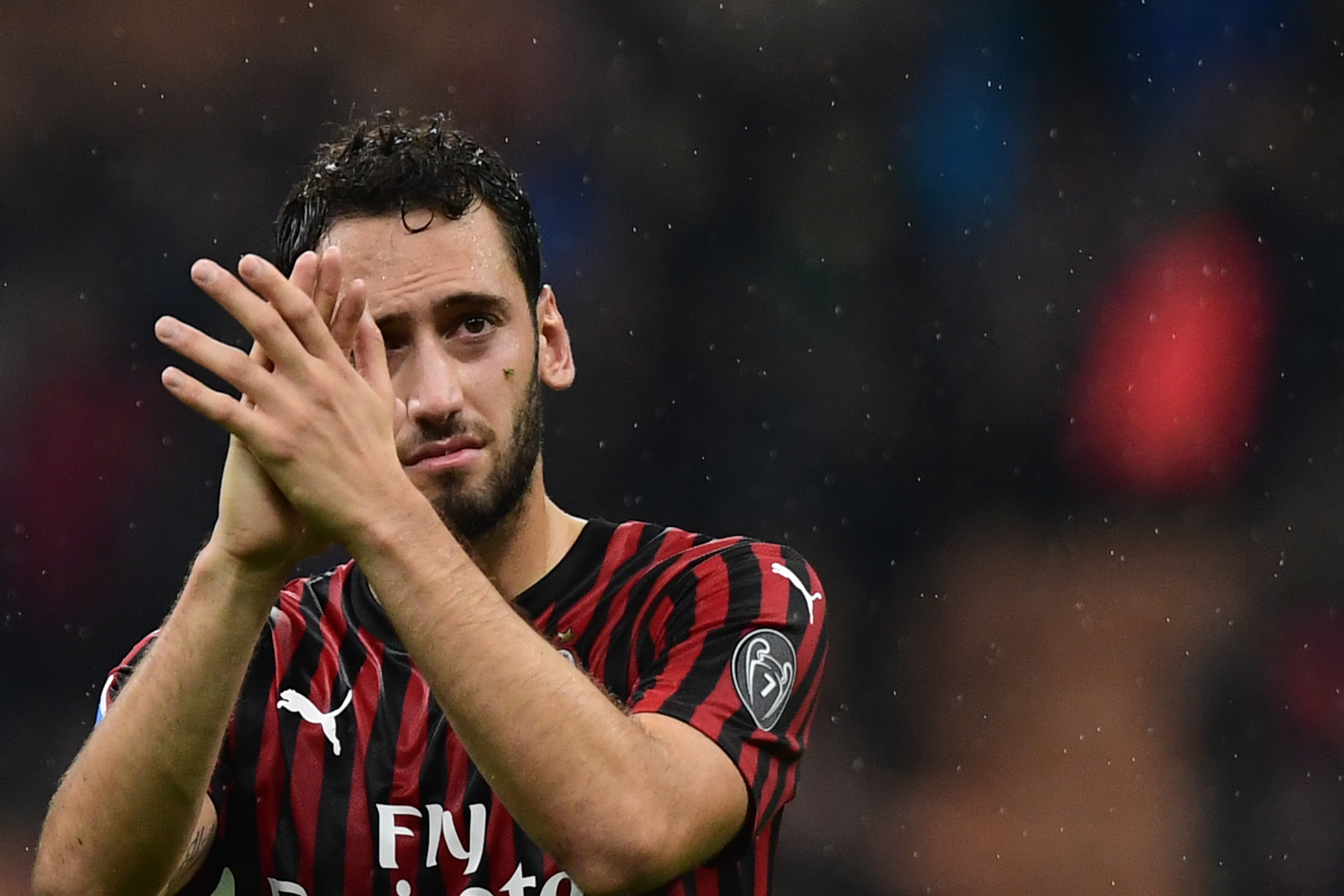 Calhanoglu's contract expires at the end of the season (Photo by Miguel Medina/AFP via Getty Images)
