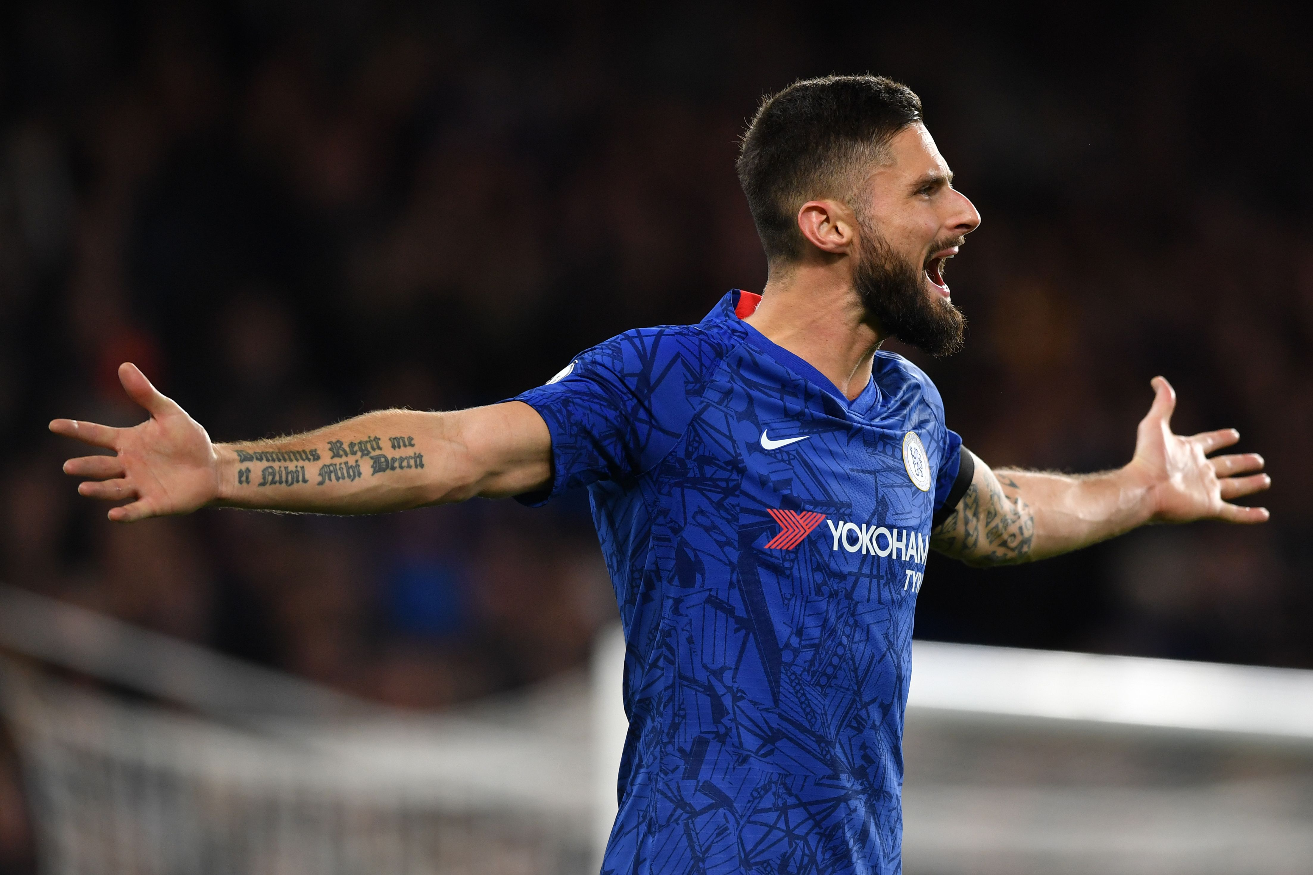 Giroud is on his way to AC Milan. (Photo by Ben Stansall/AFP via Getty Images)