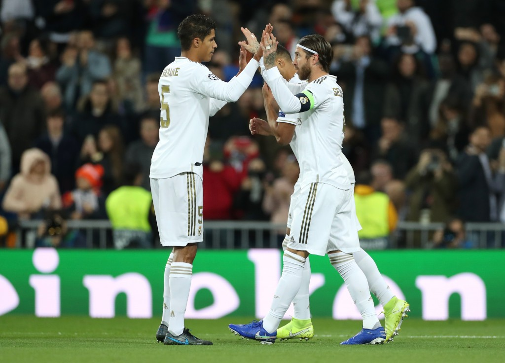 Will Varane rediscover his best with Sergio Ramos by his side? (Photo by Angel Martinez/Getty Images)