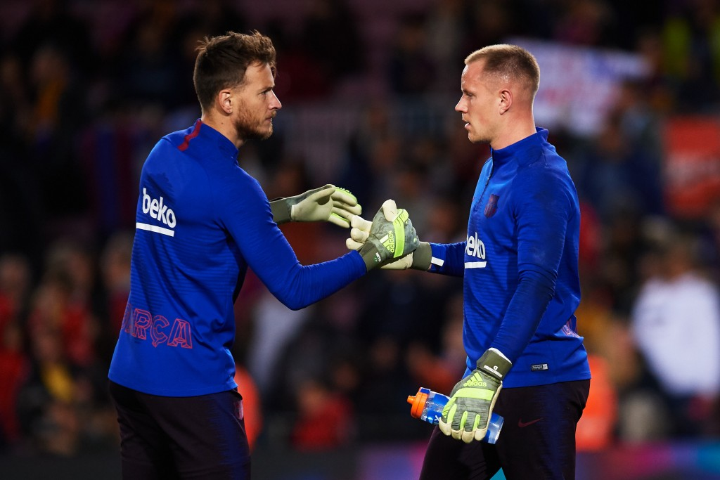 Net is set for a rare start in the absence of Marc-Andre ter Stegen. (Photo by Alex Caparros/Getty Images)
