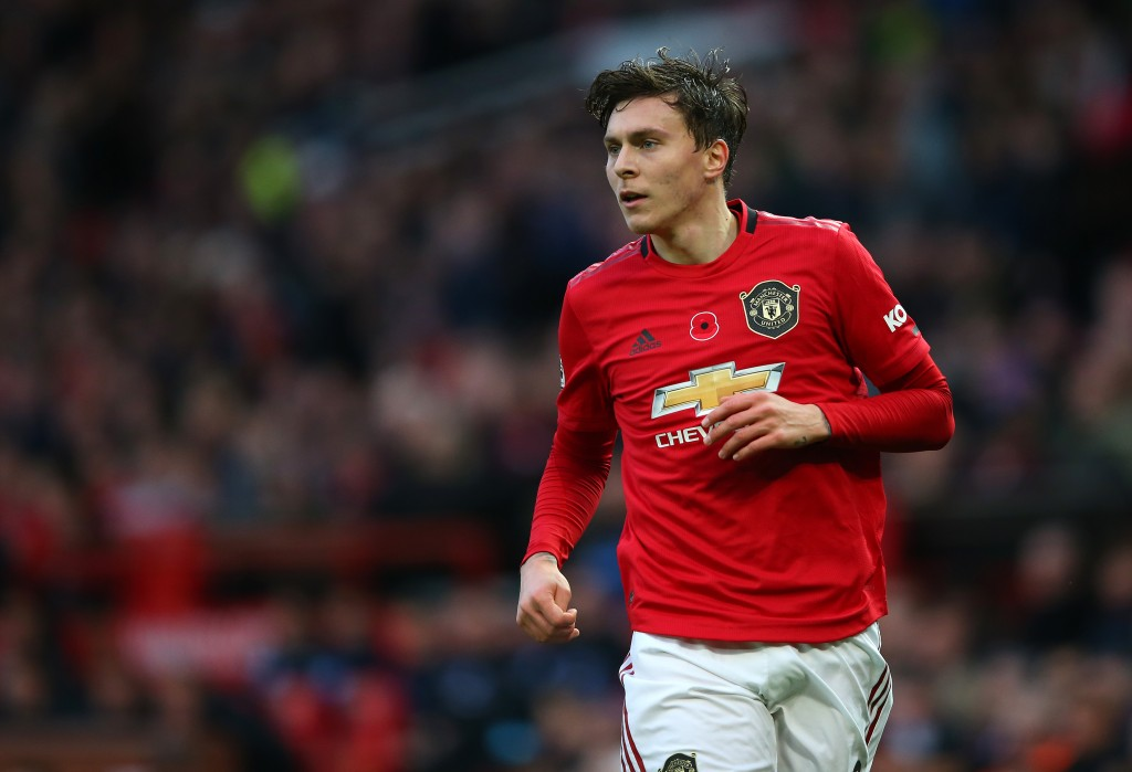 Victor Lindelof is a major doubt ahead of the Burnley game. (Photo by Alex Livesey/Getty Images)