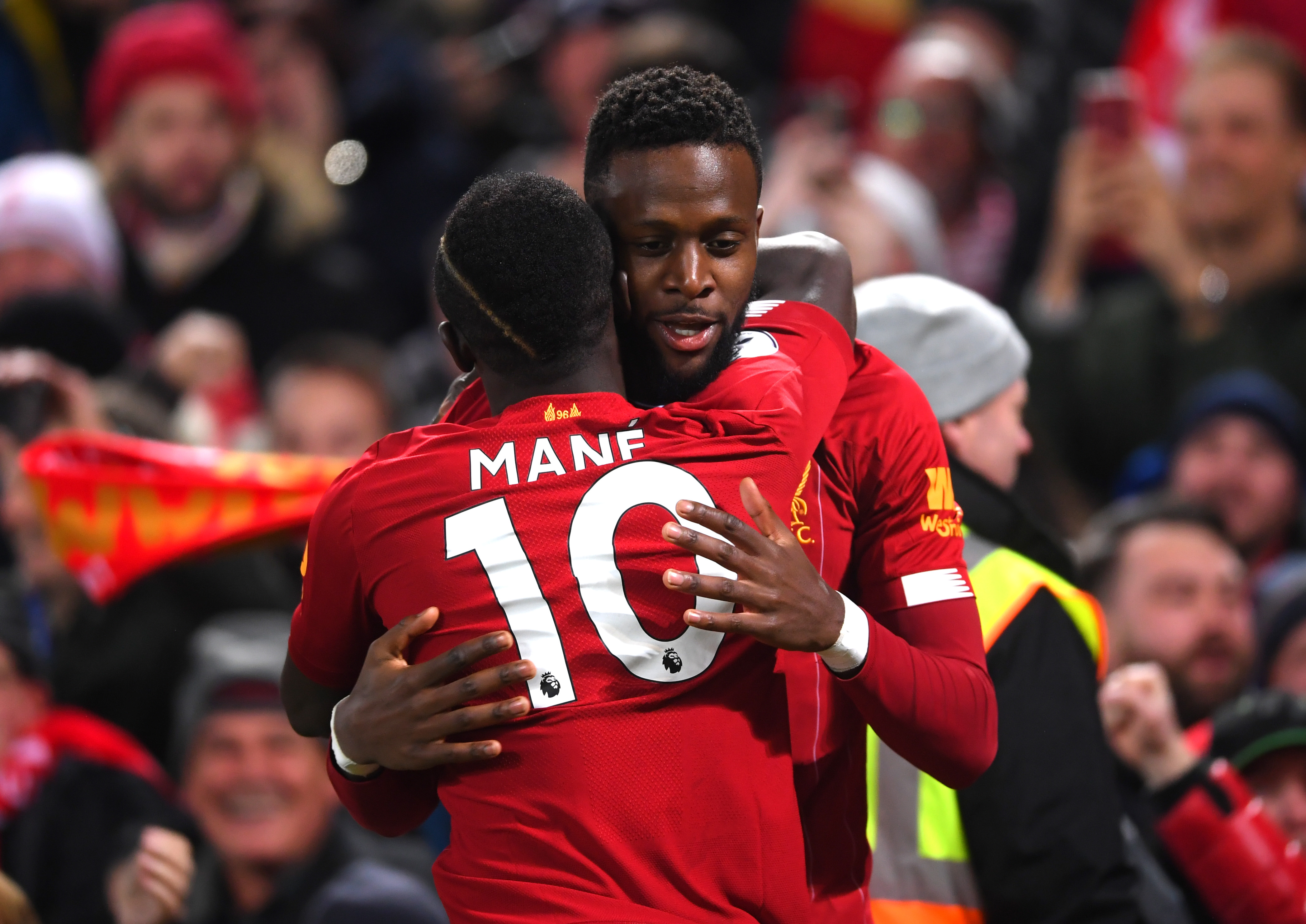 Mane and Origi are doubts for the Southampton clash (Photo by Laurence Griffiths/Getty Images)