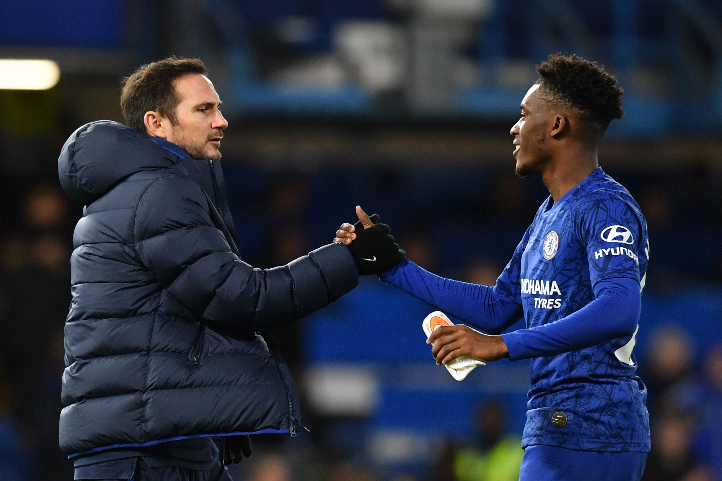 Hudson-Odoi will want to build on his performance against Burnley (Photo by BEN STANSALL/AFP via Getty Images)