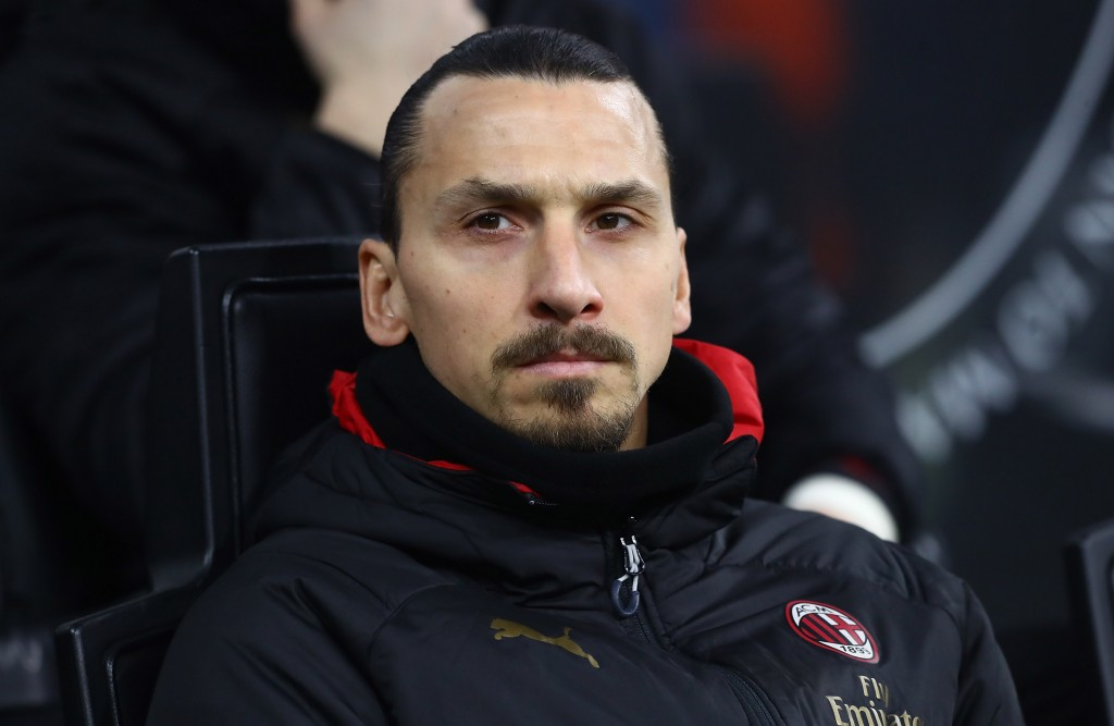 Zlatan Ibrahimovic is unavailable to take on Genoa. (Photo by Marco Luzzani/Getty Images)