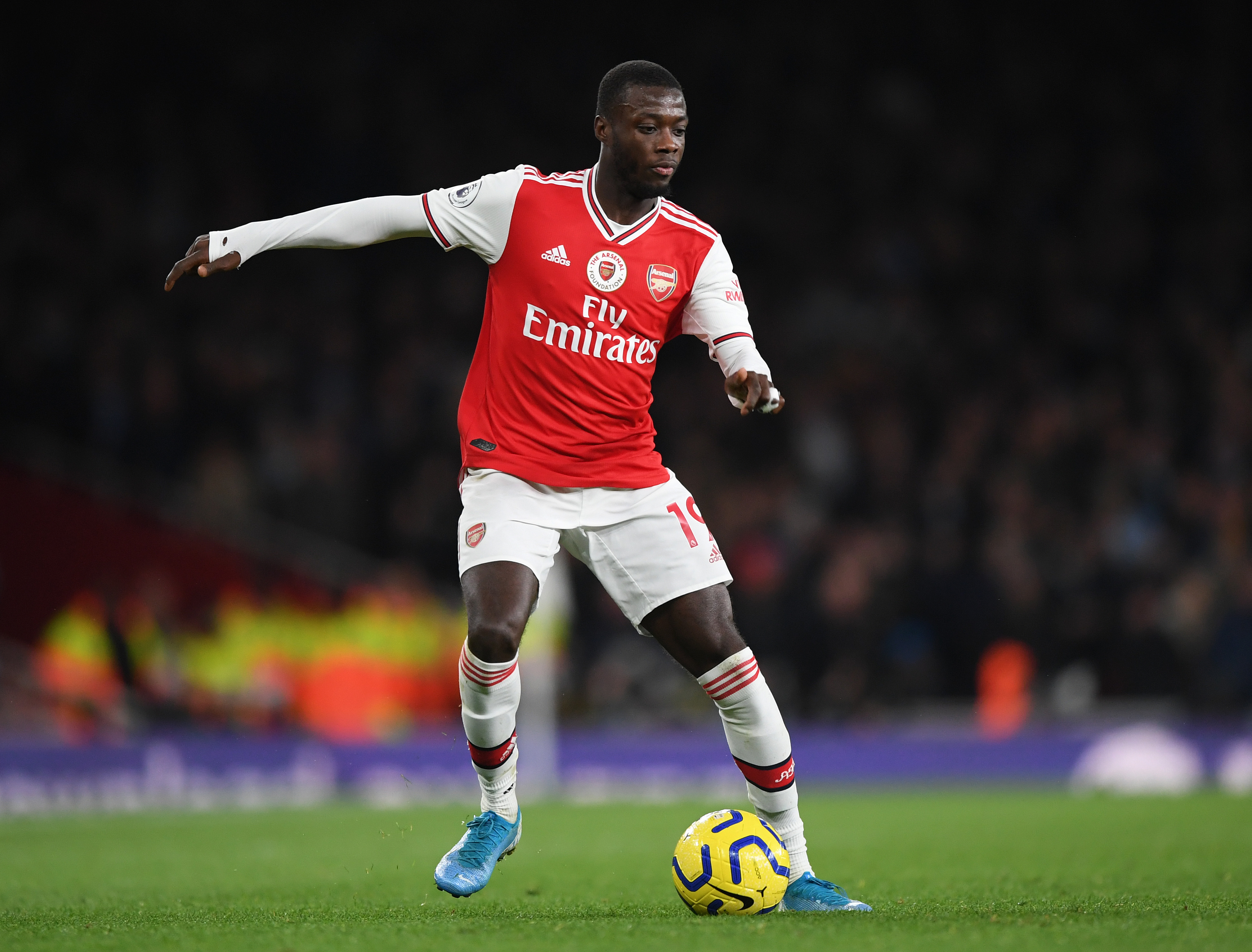 Nicolas Pepe missed the last game due to personal reasons (Photo by Shaun Botterill/Getty Images)