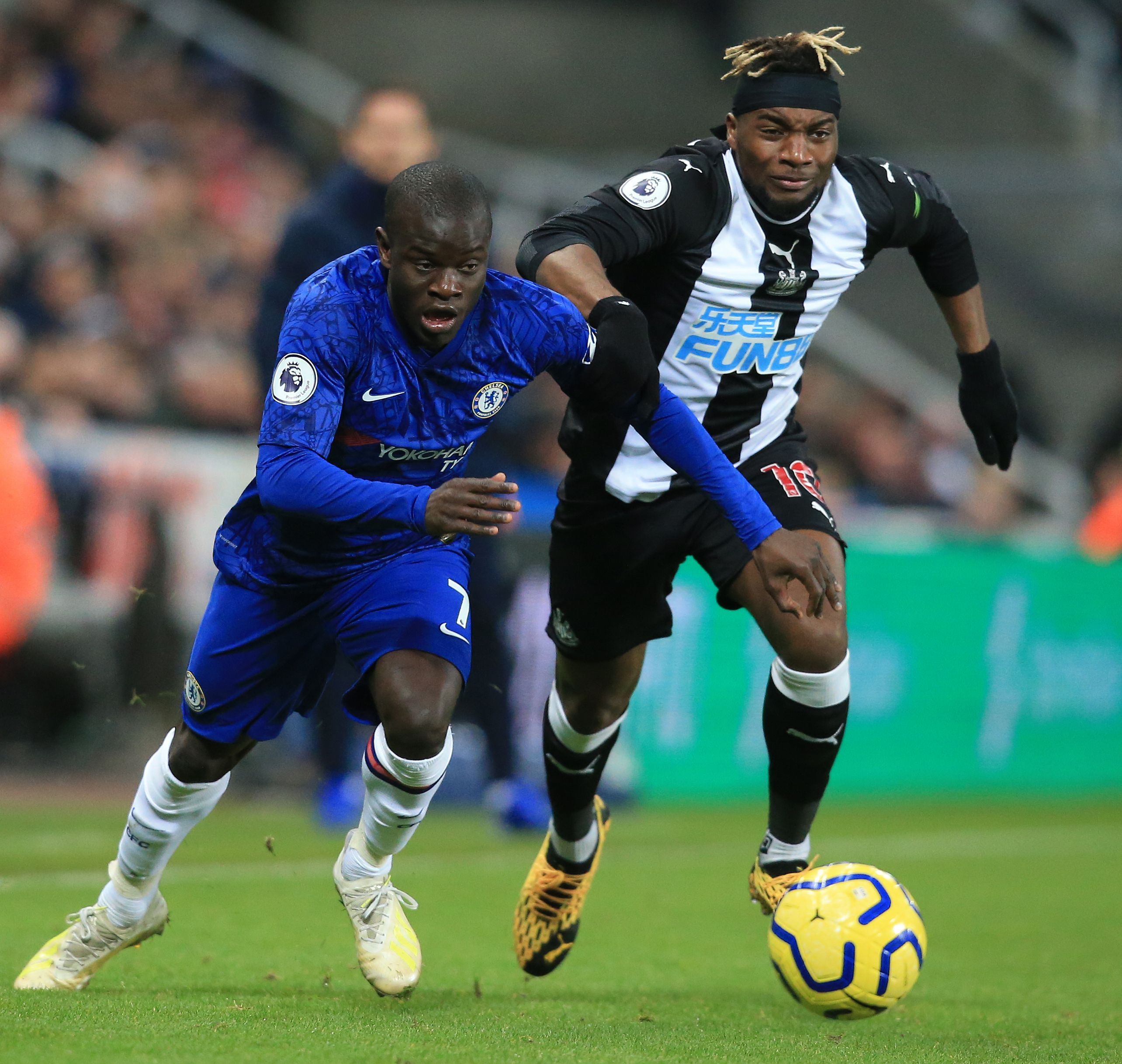 Allan Saint-Maximin will pose a major threat to the Leeds defence (Picture Courtesy - AFP/Getty Images)