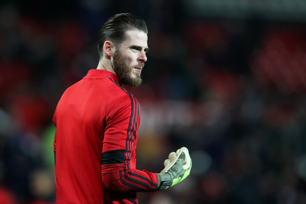 David de Gea is slowly rediscovering his best, which does not bode well for Henderson. (Photo by Ian MacNicol/Getty Images)