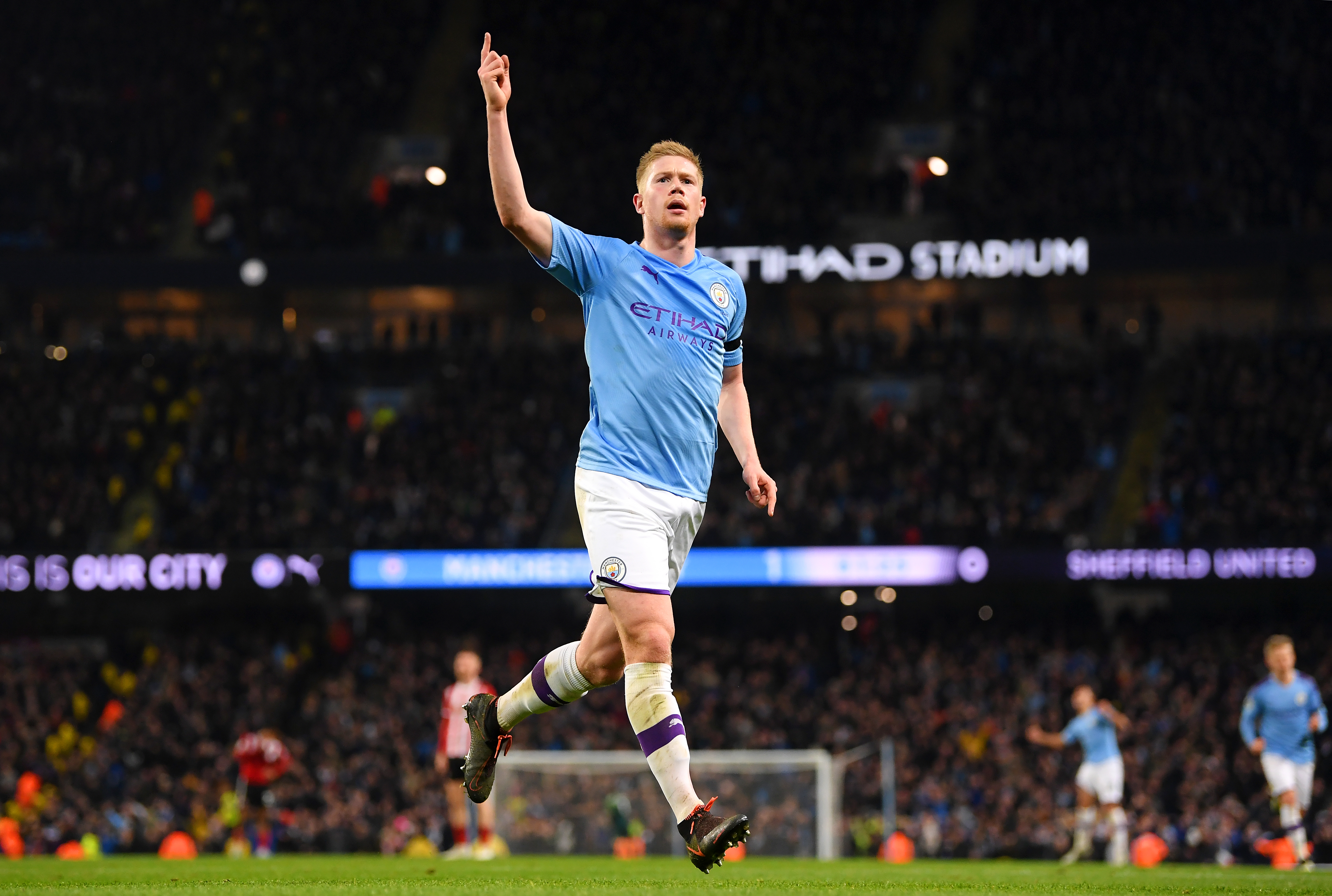Manchester City's main man (Photo by Michael Regan/Getty Images)