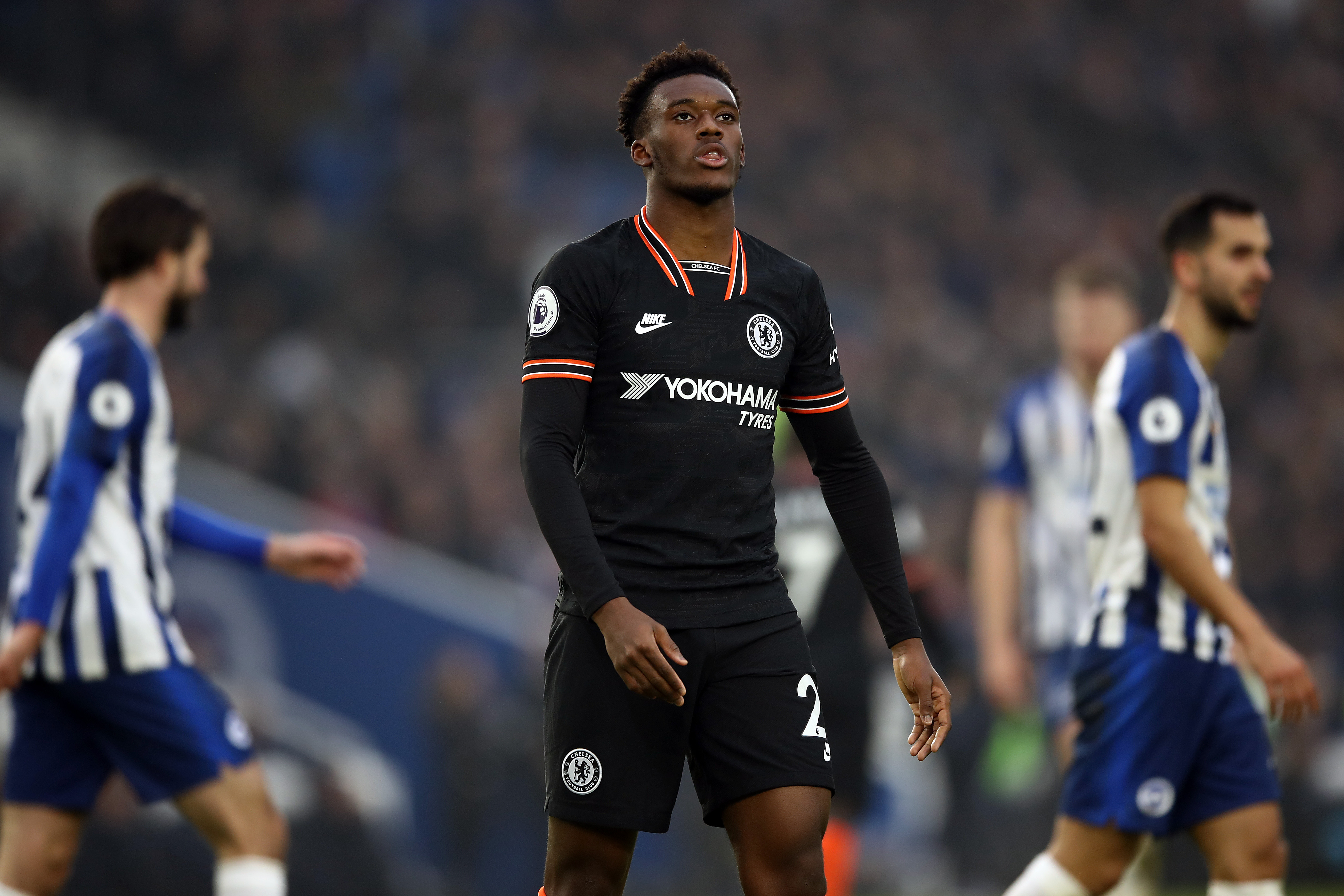 Hudson-Odoi on his way out of Chelsea? (Photo by Bryn Lennon/Getty Images)
