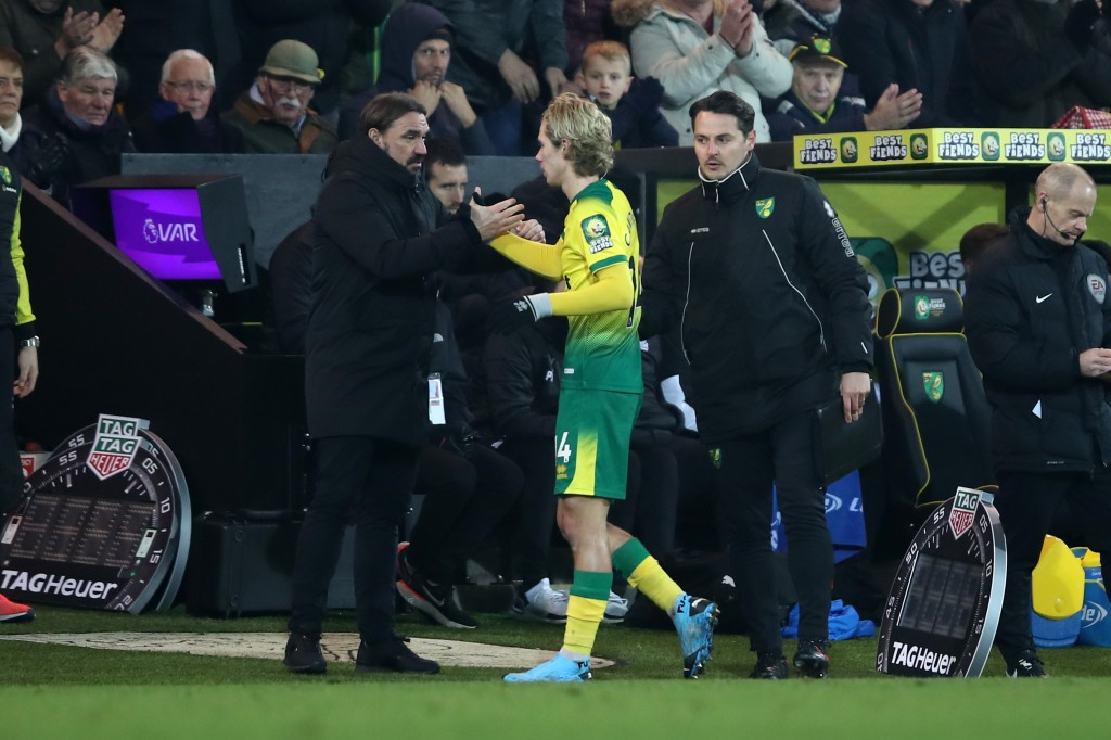 Loving life at Carrow Road. (Picture Courtesy - AFP/Getty Images)