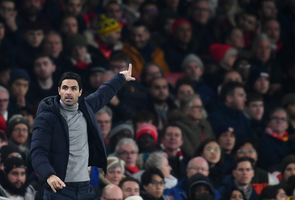 Arsenal are a mess under Mikel Arteta. (Photo by Clive Mason/Getty Images)