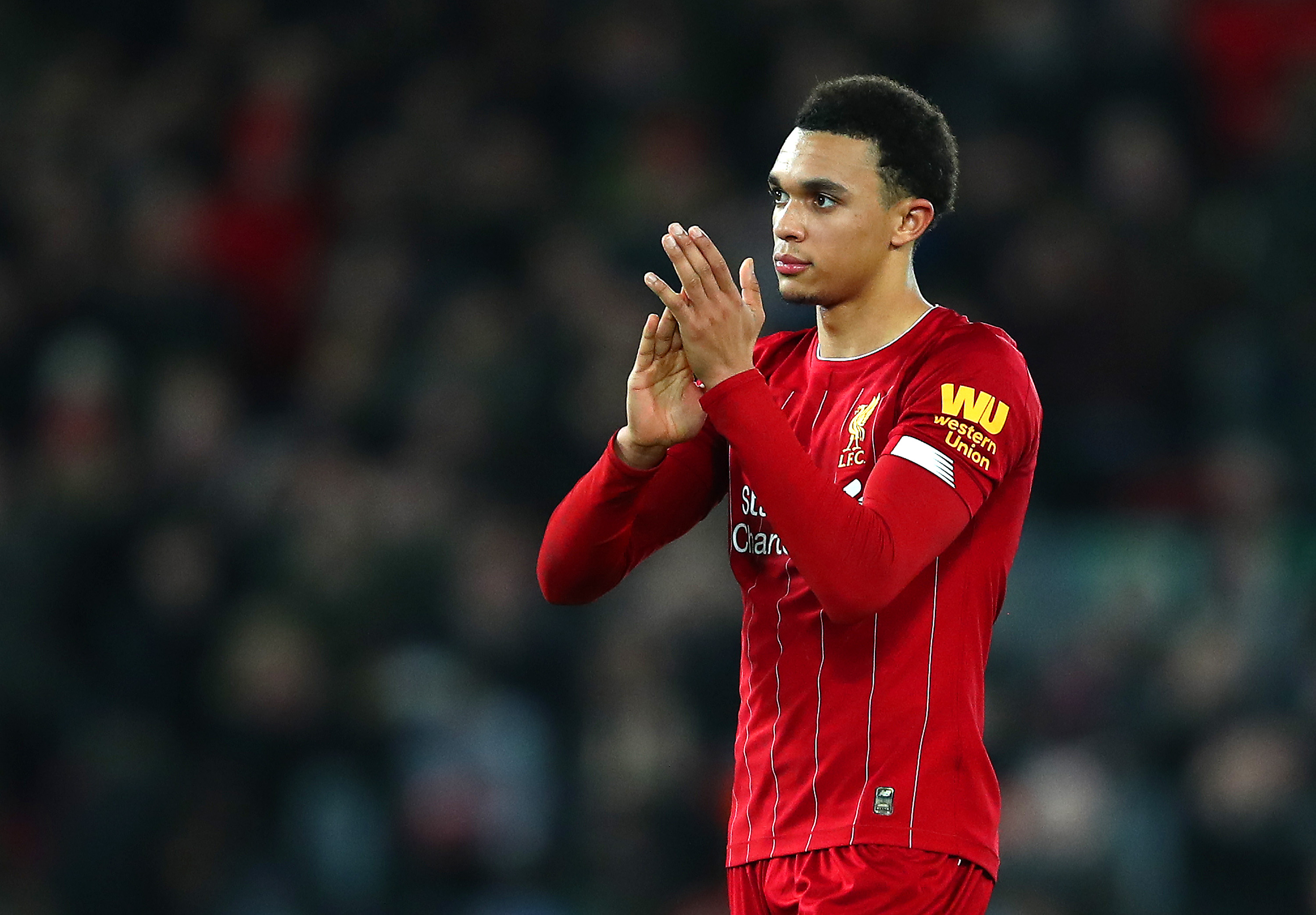 Alexander-Arnold recently signed a new contract with Liverpool (Photo by Clive Brunskill/Getty Images)