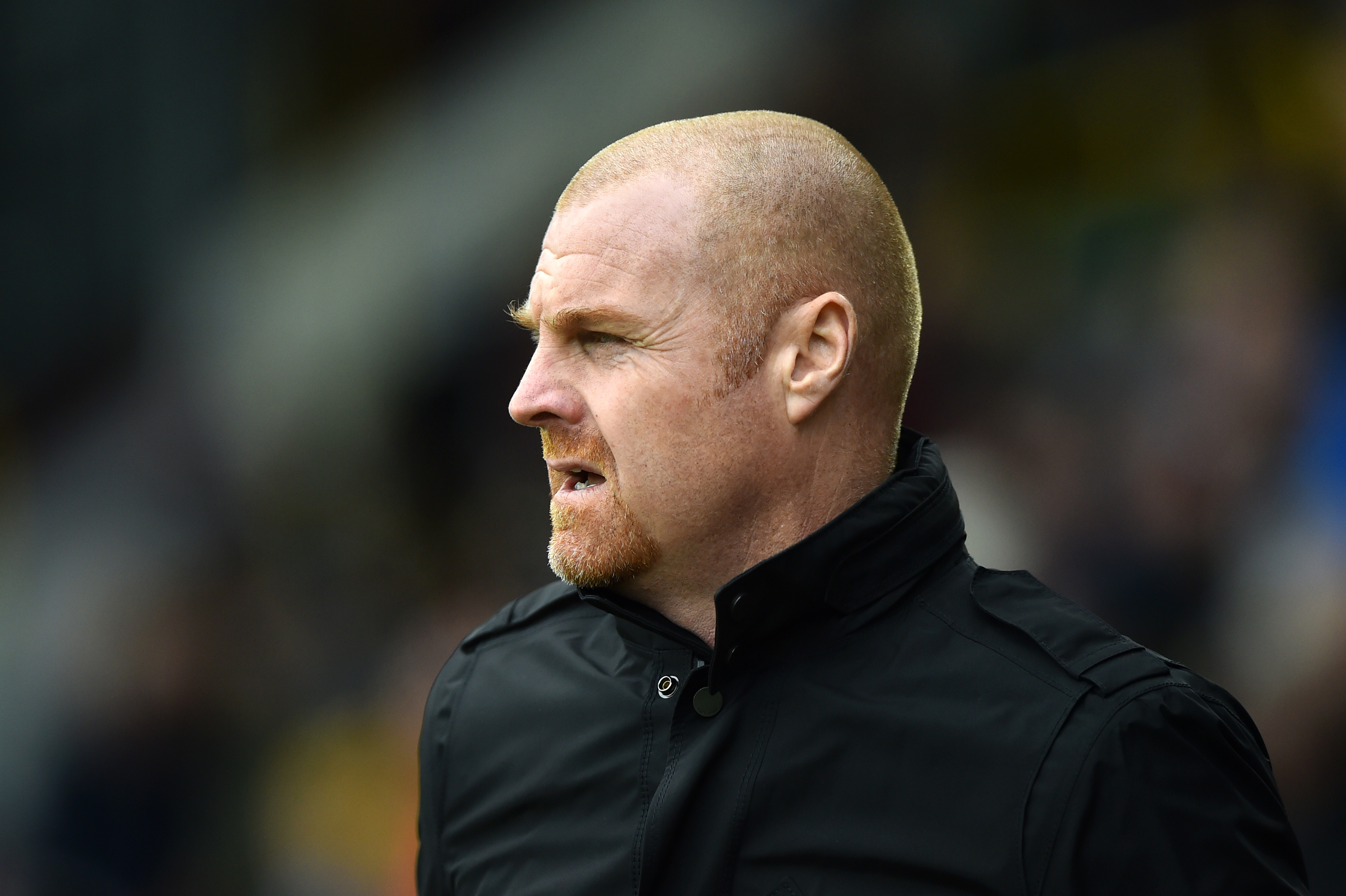 Sean Dyche has to deal with a number of roster issues (Picture Courtesy - AFP/Getty Images)