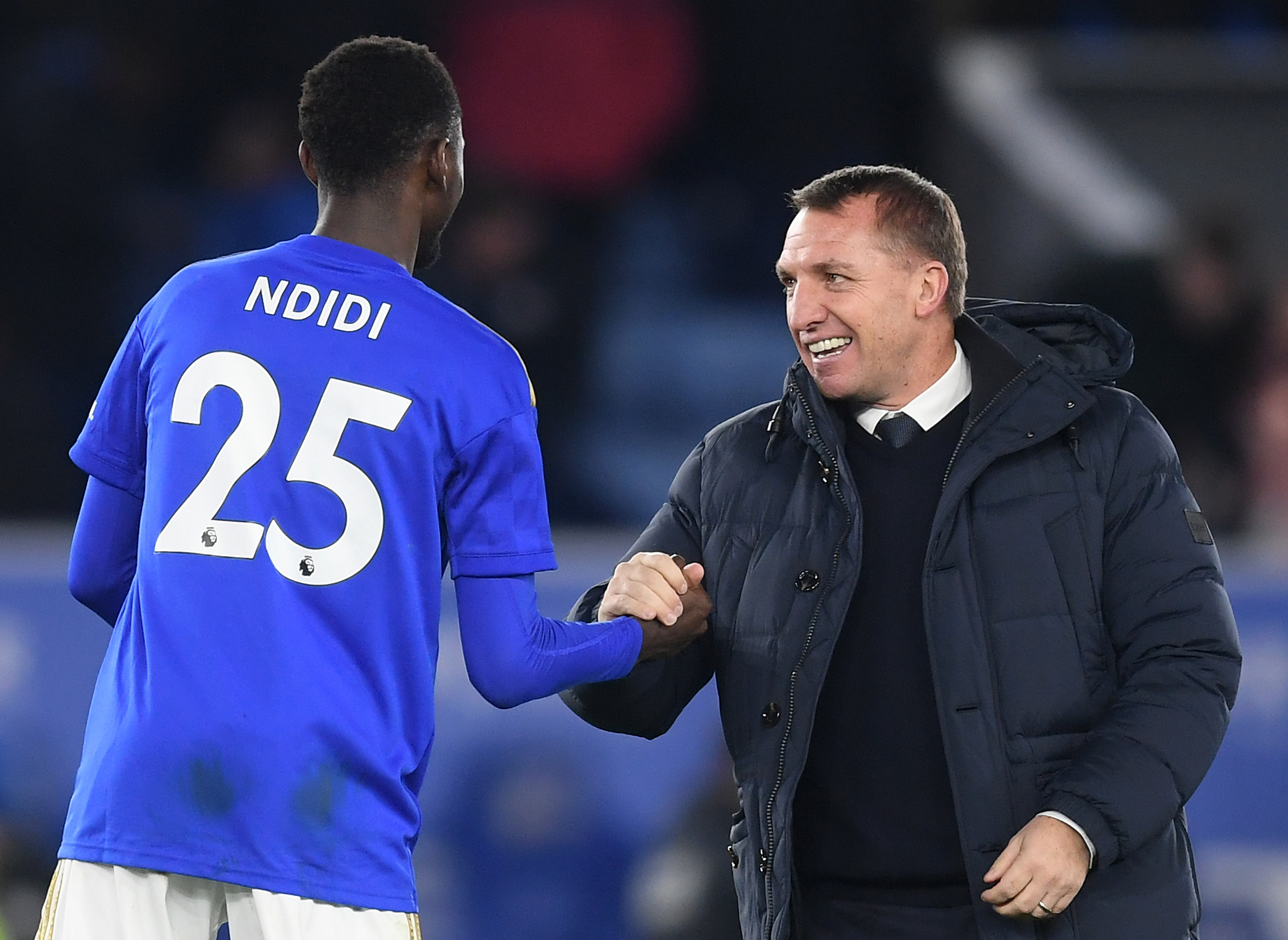 Ndidi happy at Leicester City (Photo by Michael Regan/Getty Images)