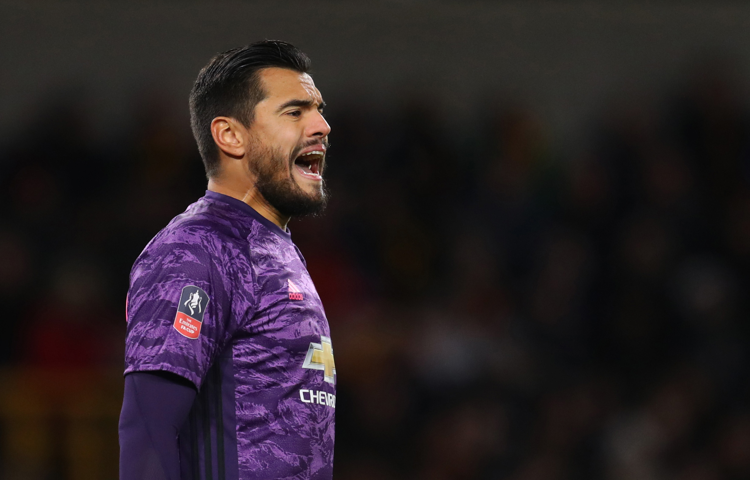 Could Romero be on his way out of Manchester United? (Picture Courtesy - AFP/Getty Images)