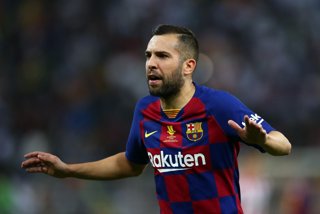 Alba produced a mixed bag of a performance. (Photo by Francois Nel/Getty Images)