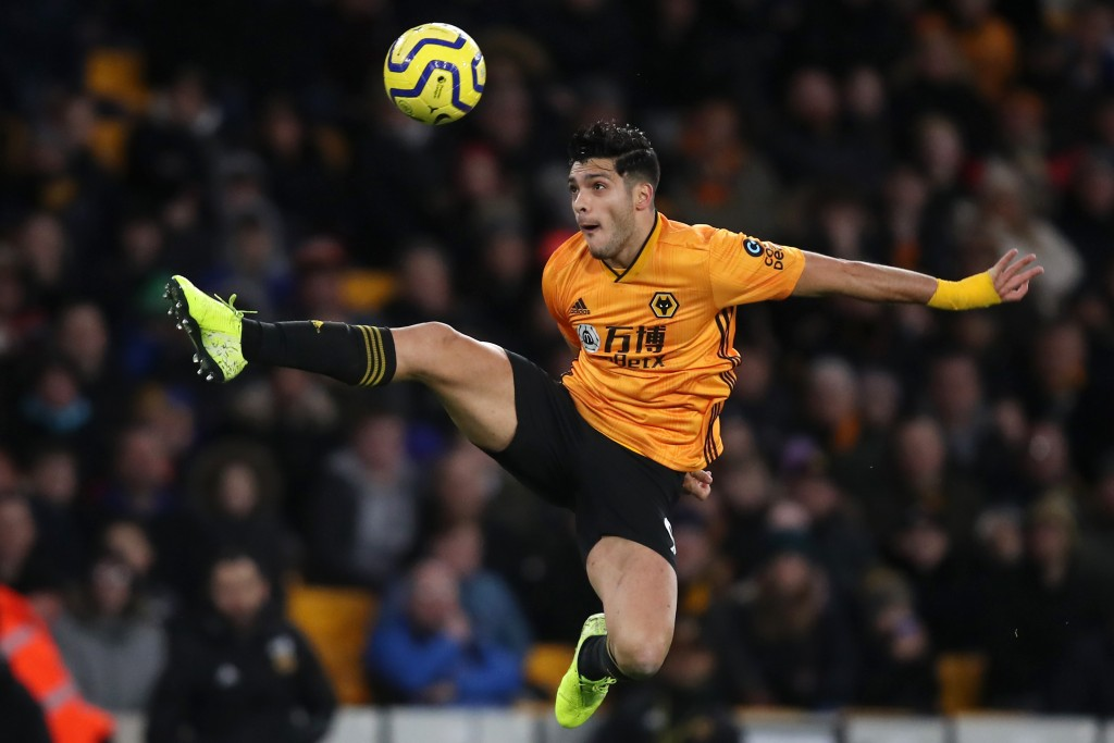 Raul Jimenez is a key man for Wolves. (Photo by Marc Atkins/Getty Images)