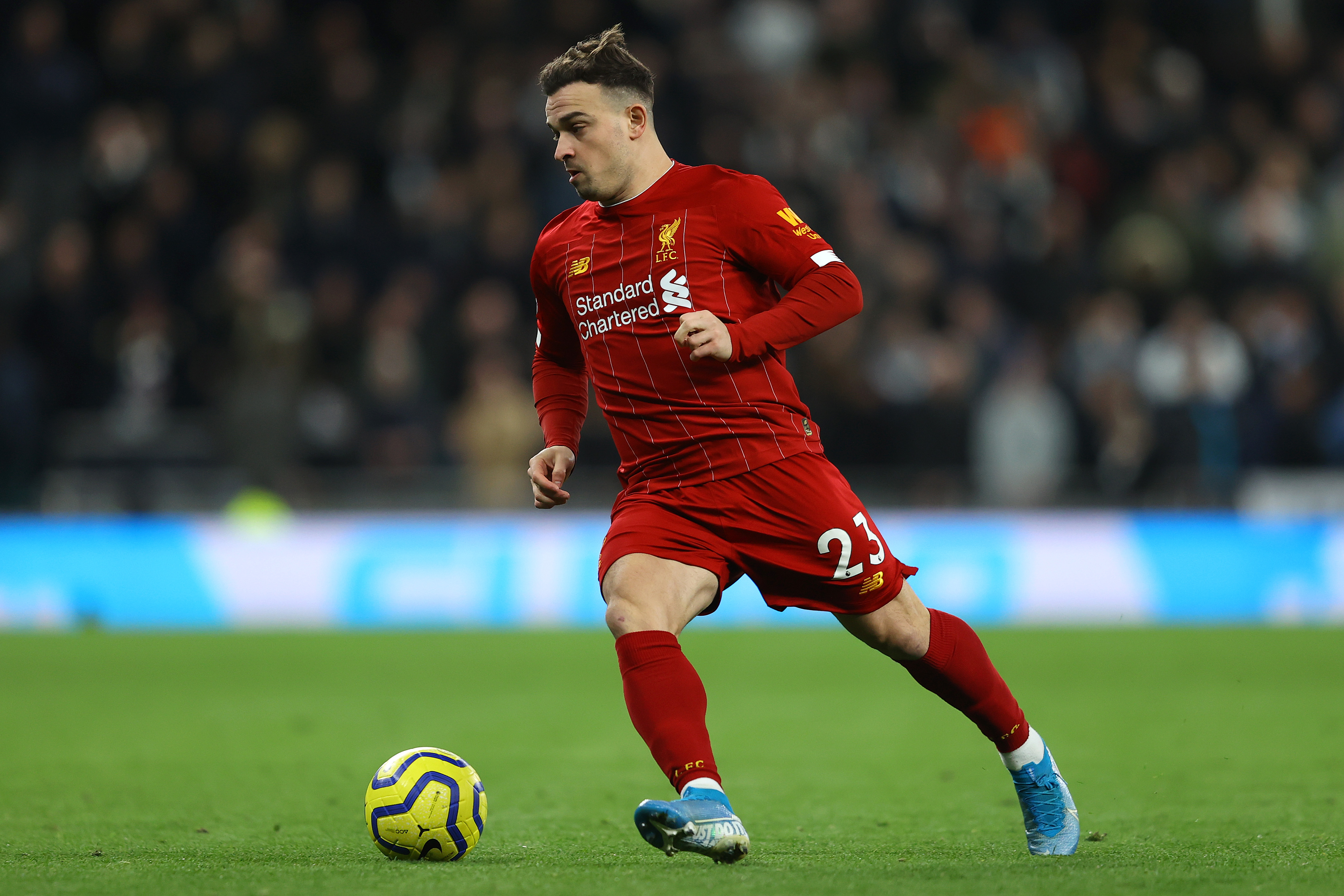 Shaqiri the only notable absentee for Liverpool (Photo by Richard Heathcote/Getty Images)