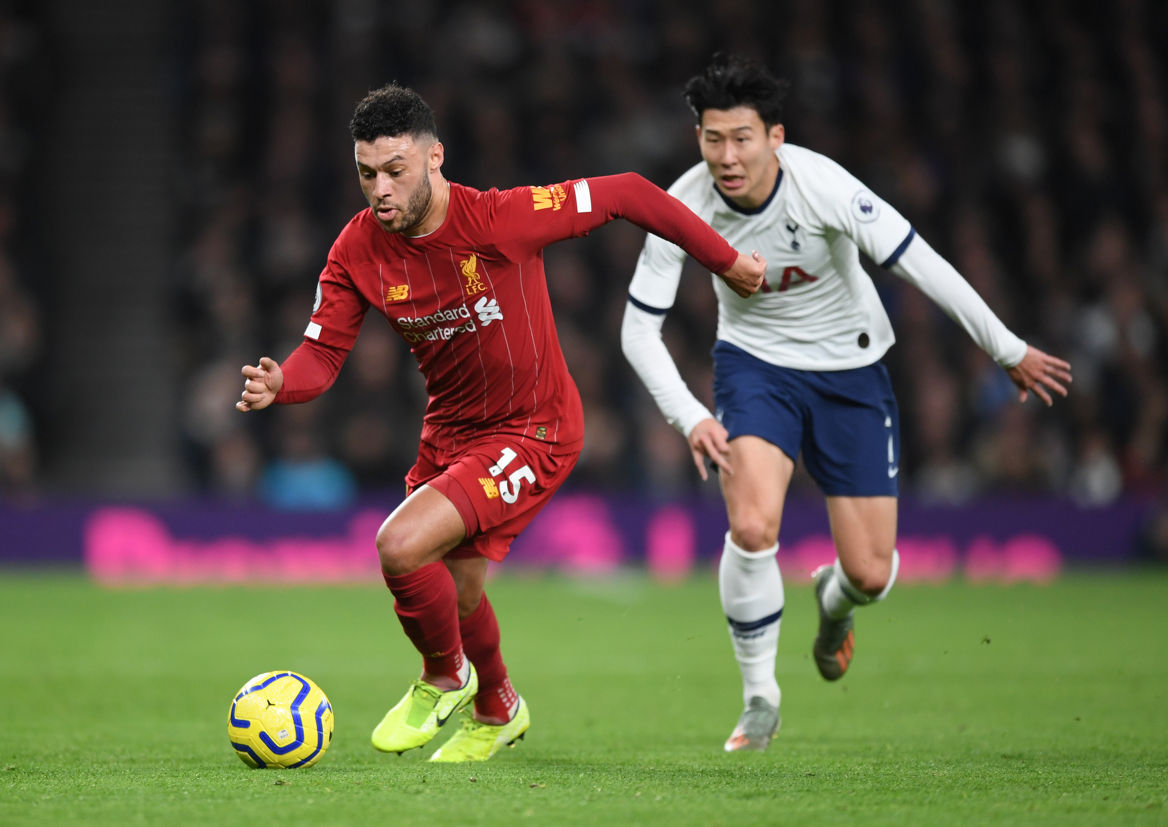 Oxlade-Chamberlain was a little rusty (Photo by Shaun Botterill/Getty Images)
