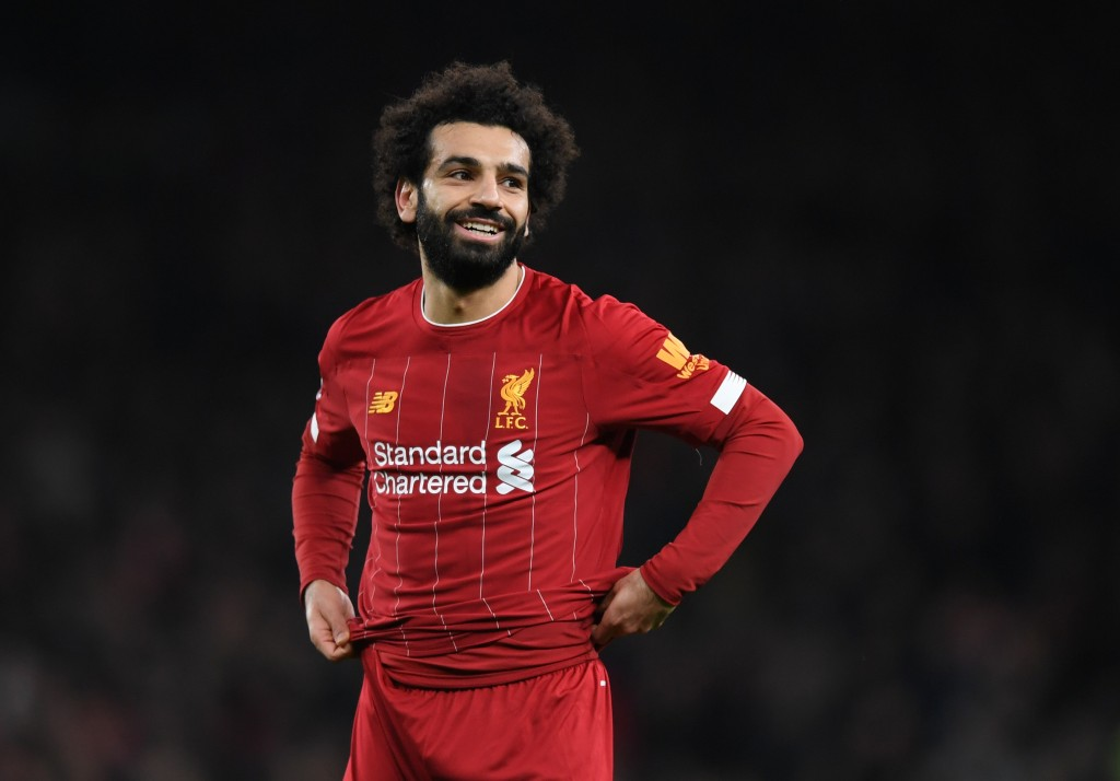 Time for Salah to shine. (Photo by Shaun Botterill/Getty Images)