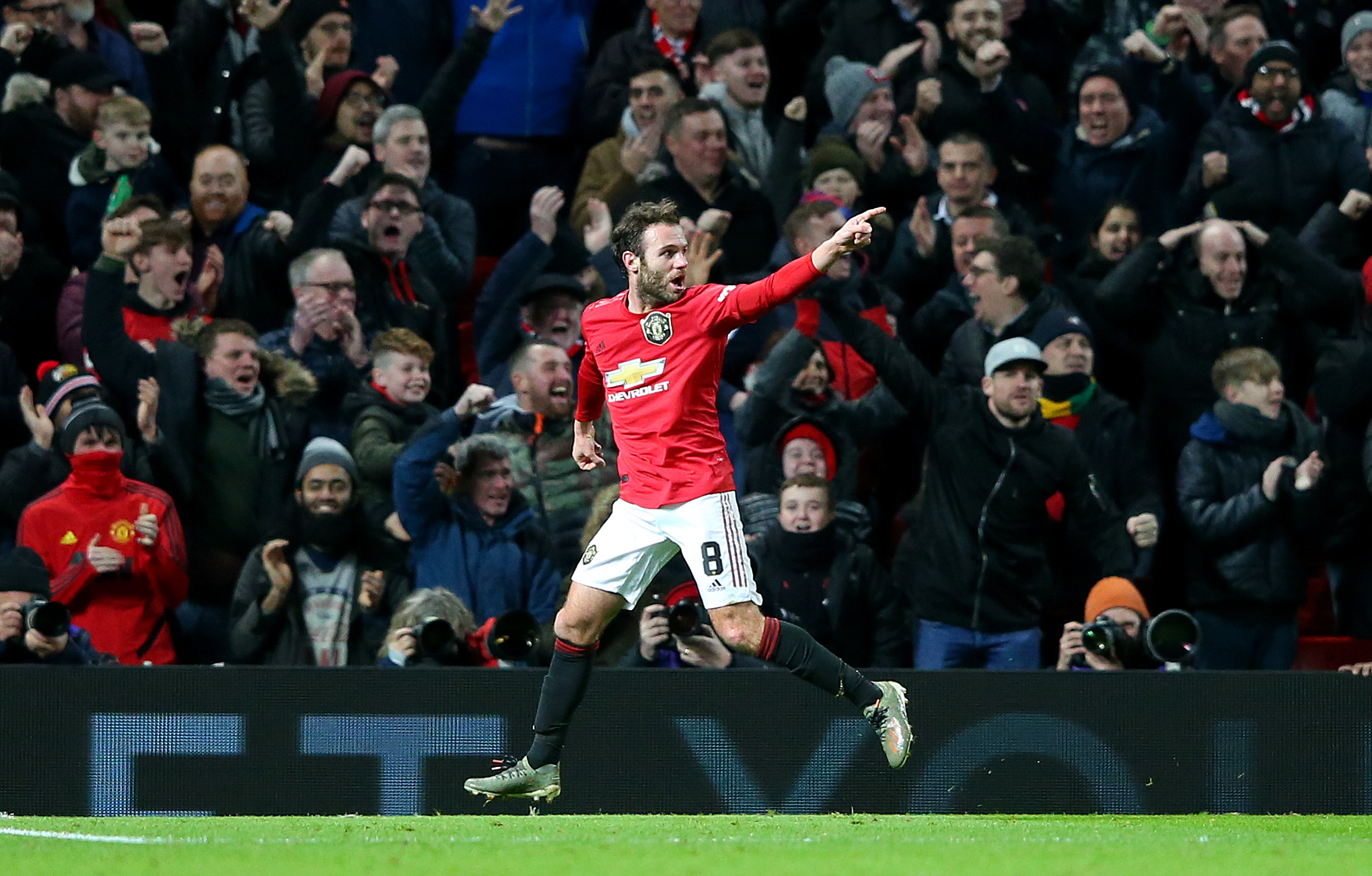 Mata the match winner (Photo by Alex Livesey/Getty Images)
