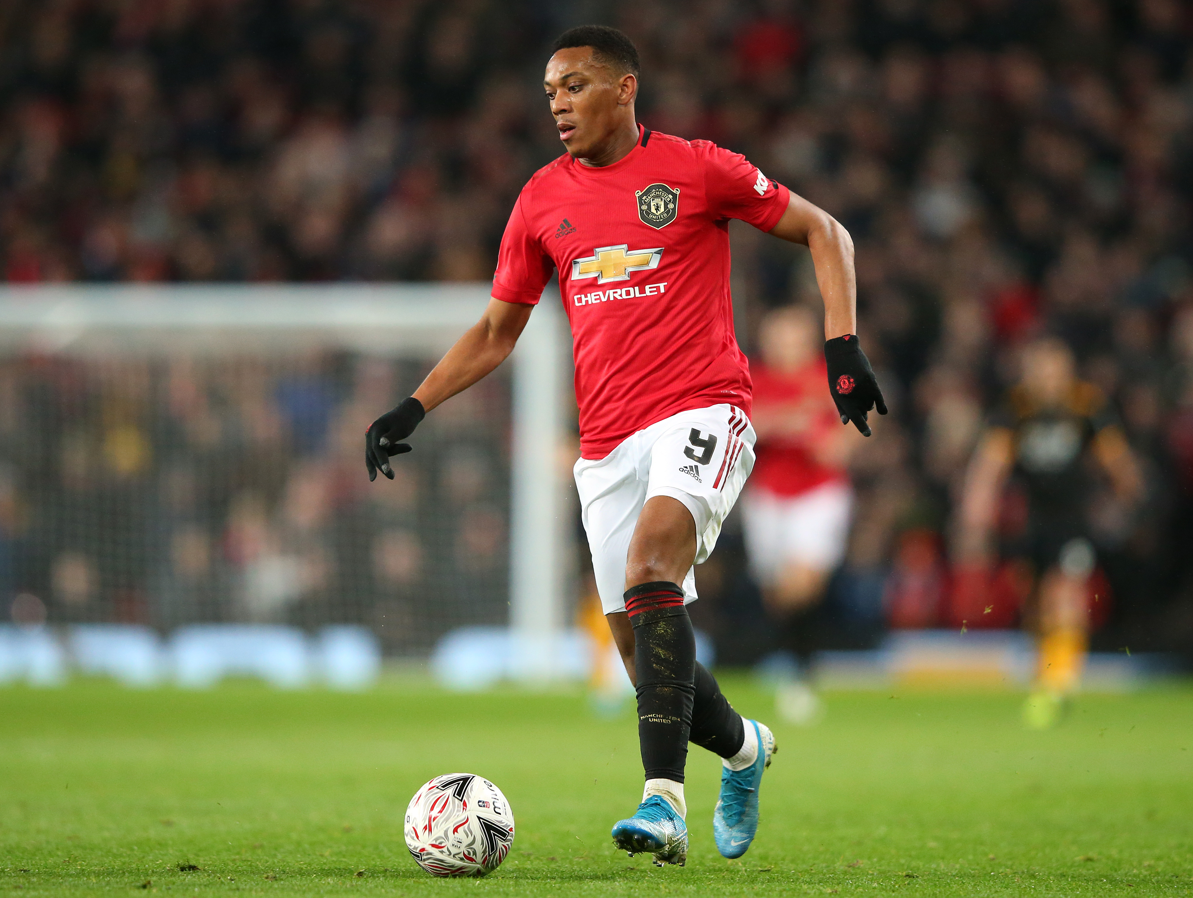 Anthony Martial is linked with a move to Inter Milan. (Photo by Alex Livesey/Getty Images)