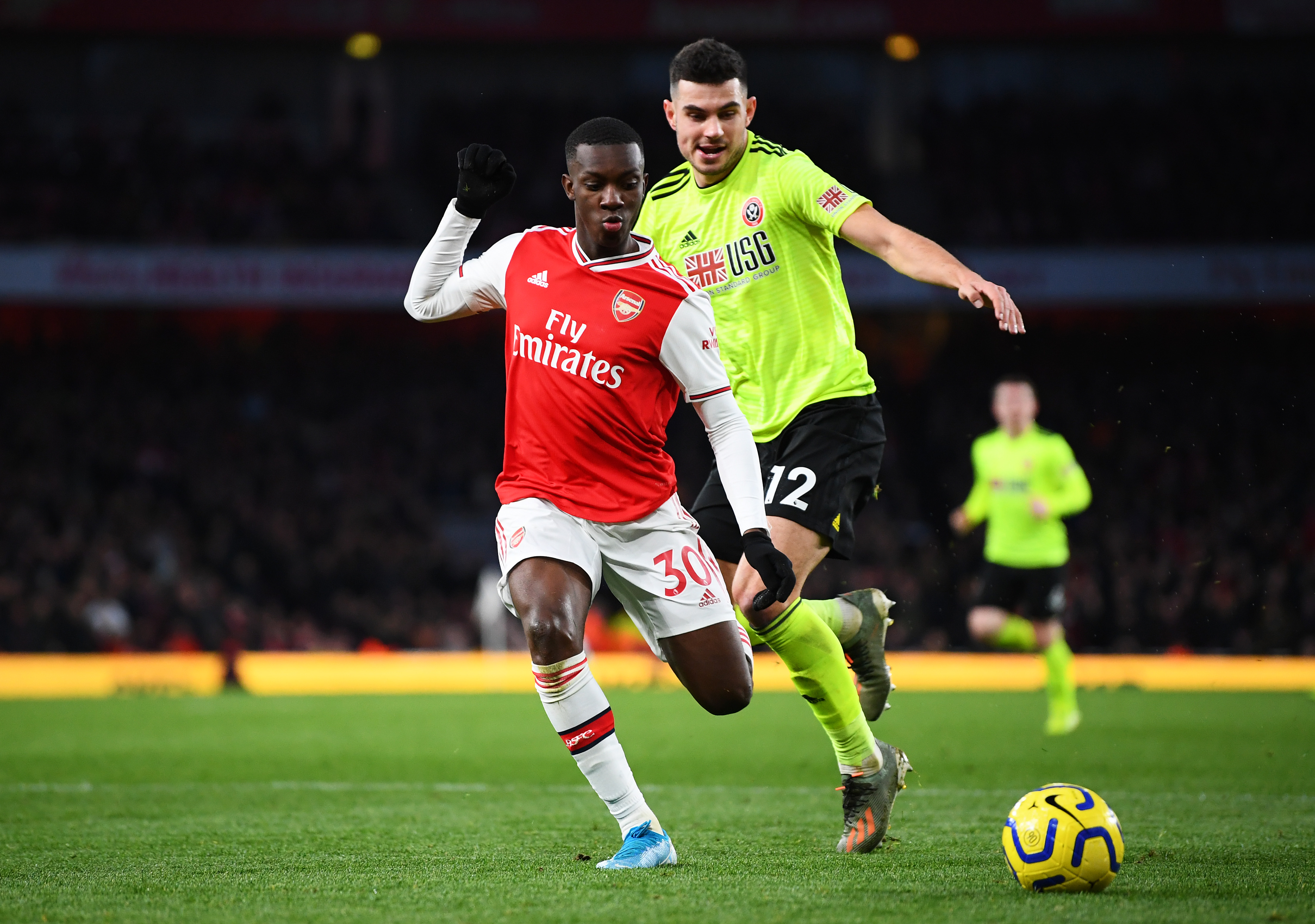 Nketiah will be looking to make a strong impression (Photo by Clive Mason/Getty Images)