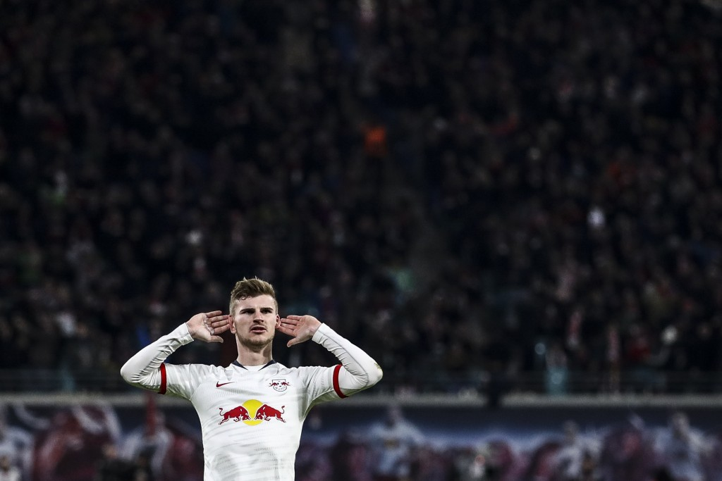 Time for Barcelona to hear the noise that Timo Werner has been making. (Picture Courtesy - AFP/Getty Images)