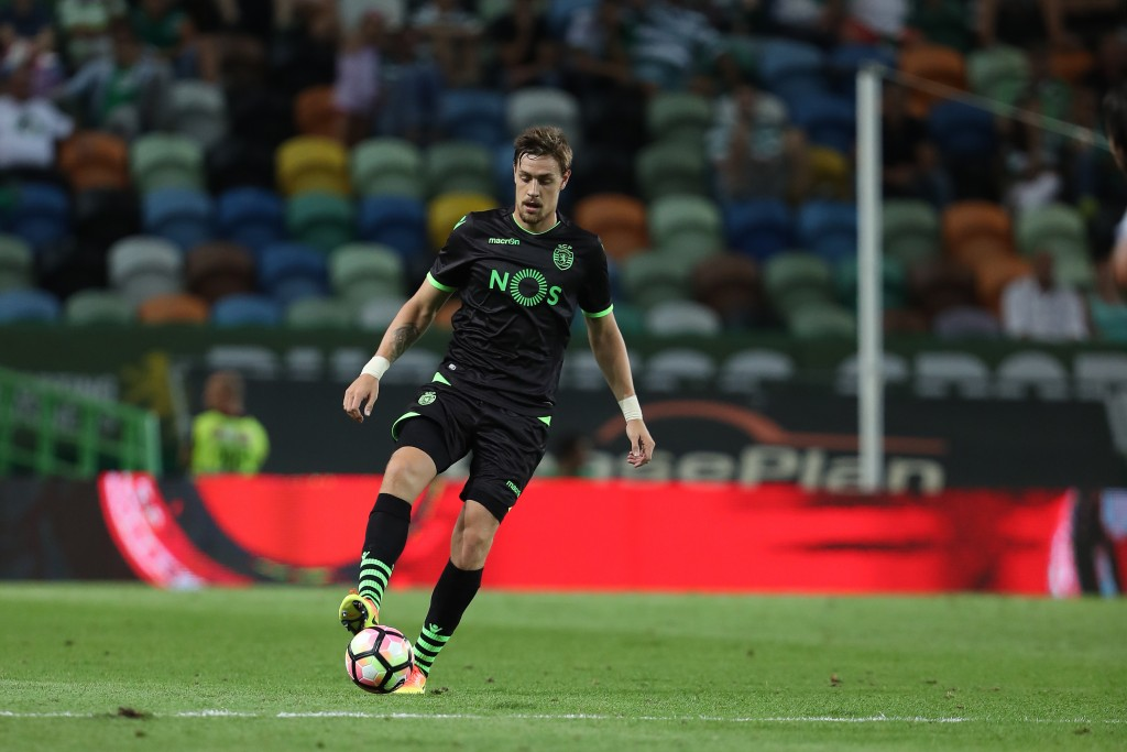 LISBON, PORTUGAL - JULY 23: Sporting's defender Sebastian Coates during the Friendly match between Sporting CP and Lyon at Estadio Jose Alvalade on July 23, 2016 in Lisbon, Portugal. (Photo by Carlos Rodrigues/Getty Images)