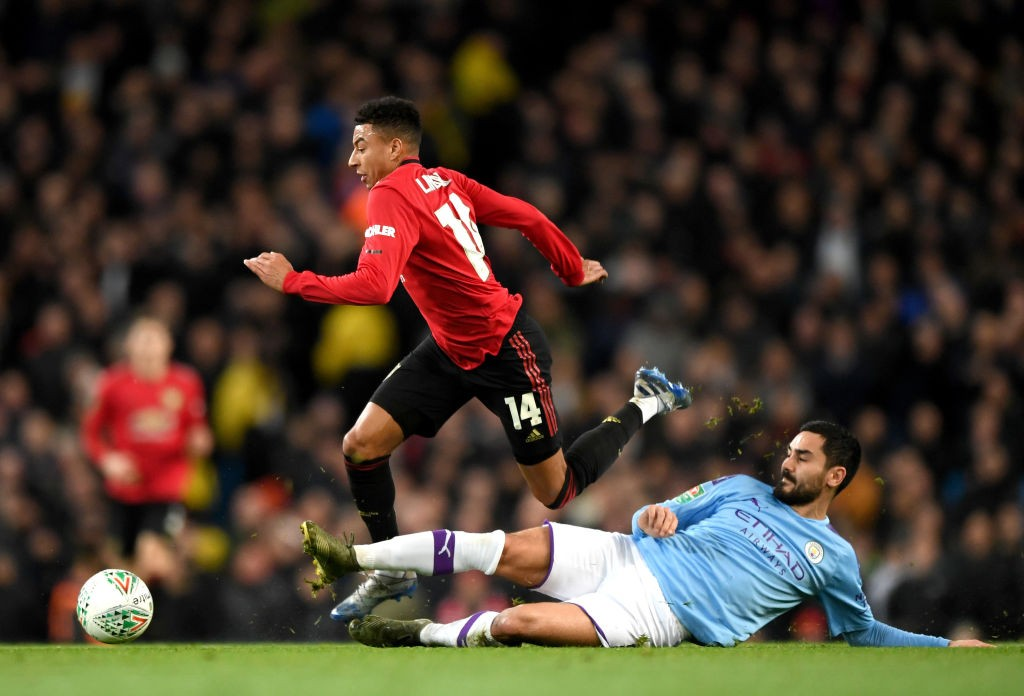 Lingard was poor (Photo by Shaun Botterill/Getty Images)
