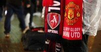 MANCHESTER, ENGLAND - DECEMBER 05: Merchandise is seen prior to the Premier League match between Manchester United and Arsenal FC at Old Trafford on December 5, 2018 in Manchester, United Kingdom. (Photo by Clive Brunskill/Getty Images)
