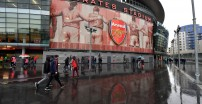 LONDON, ENGLAND - FEBRUARY 16: A general view outside the stadium prior to the Premier League match between Arsenal FC and Newcastle United at Emirates Stadium on February 16, 2020 in London, United Kingdom. (Photo by Justin Setterfield/Getty Images)