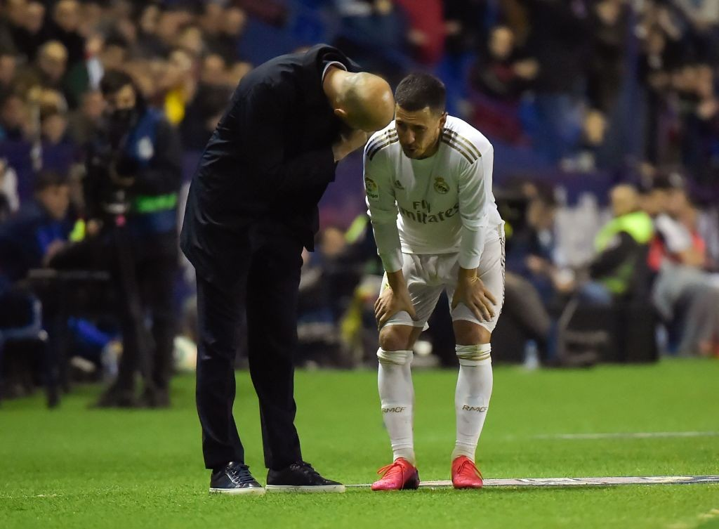 Injured again (Photo by JOSE JORDAN/AFP via Getty Images)